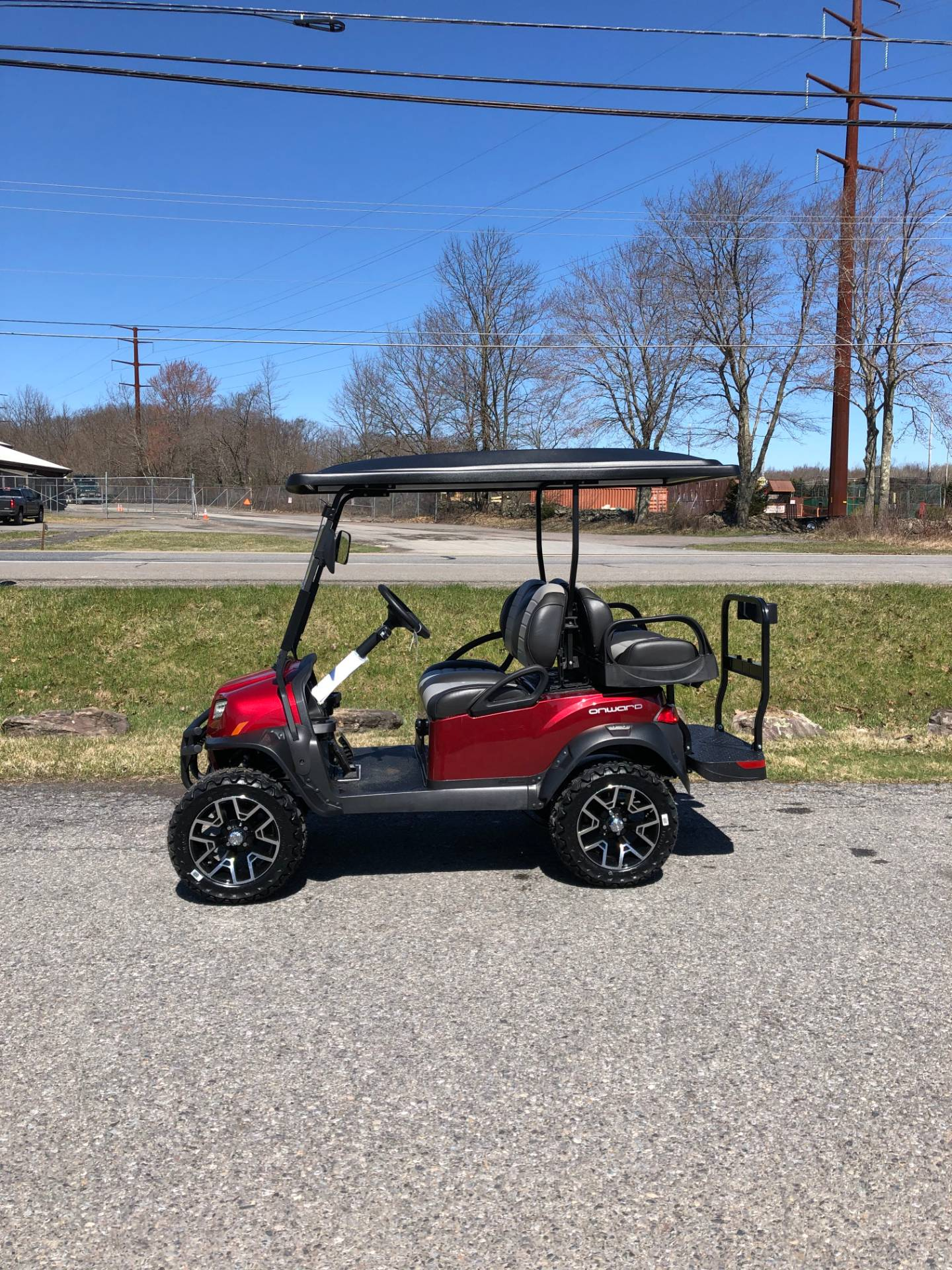 2020 Club Car Onward 4 Passenger Lifted Electric in Pocono Lake, Pennsylvania - Photo 2