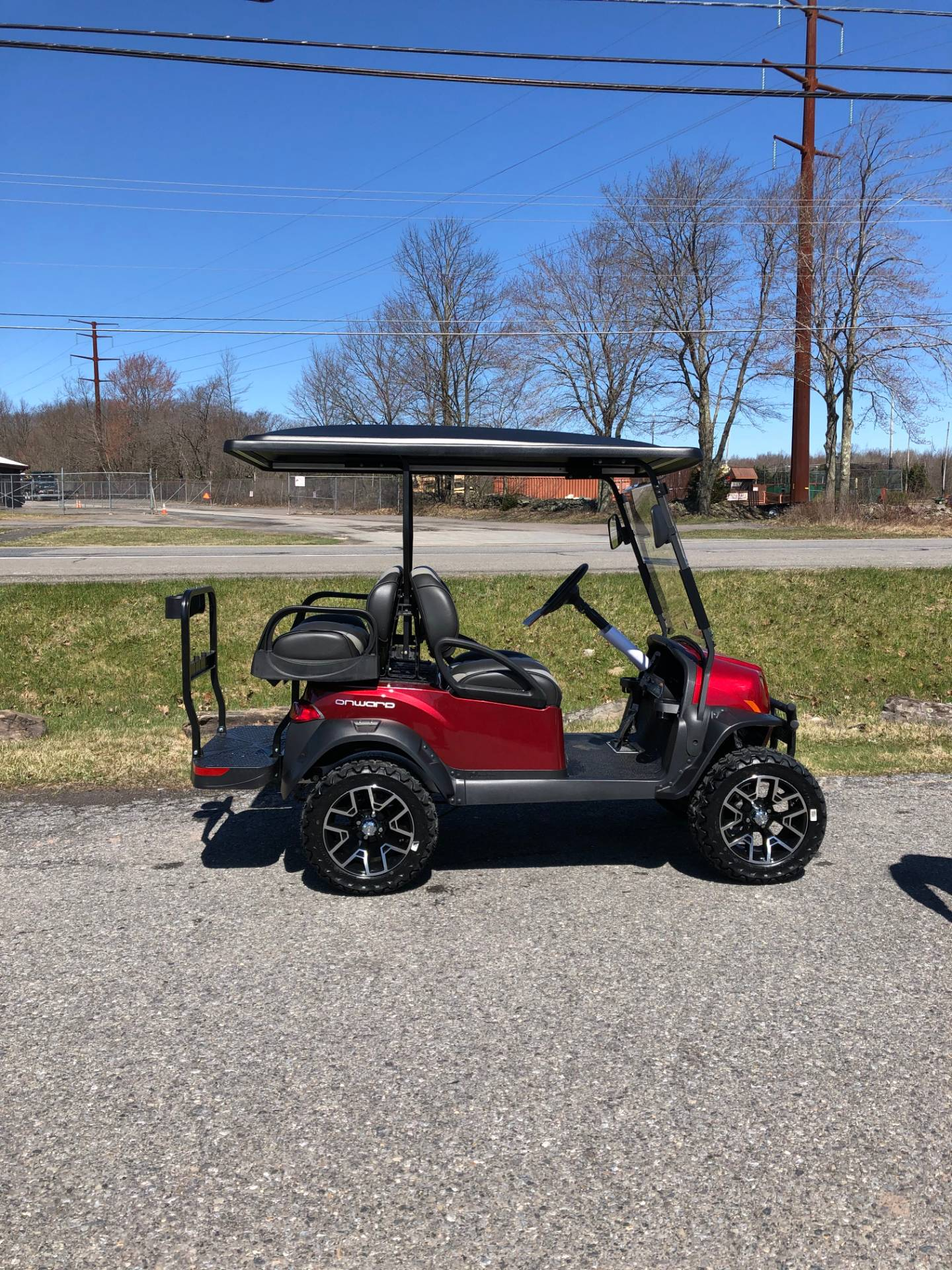 2020 Club Car Onward 4 Passenger Lifted Electric in Pocono Lake, Pennsylvania - Photo 3