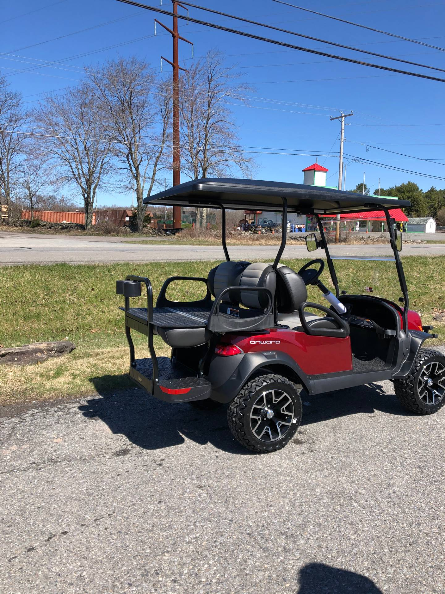 2020 Club Car Onward 4 Passenger Lifted Electric in Pocono Lake, Pennsylvania - Photo 5