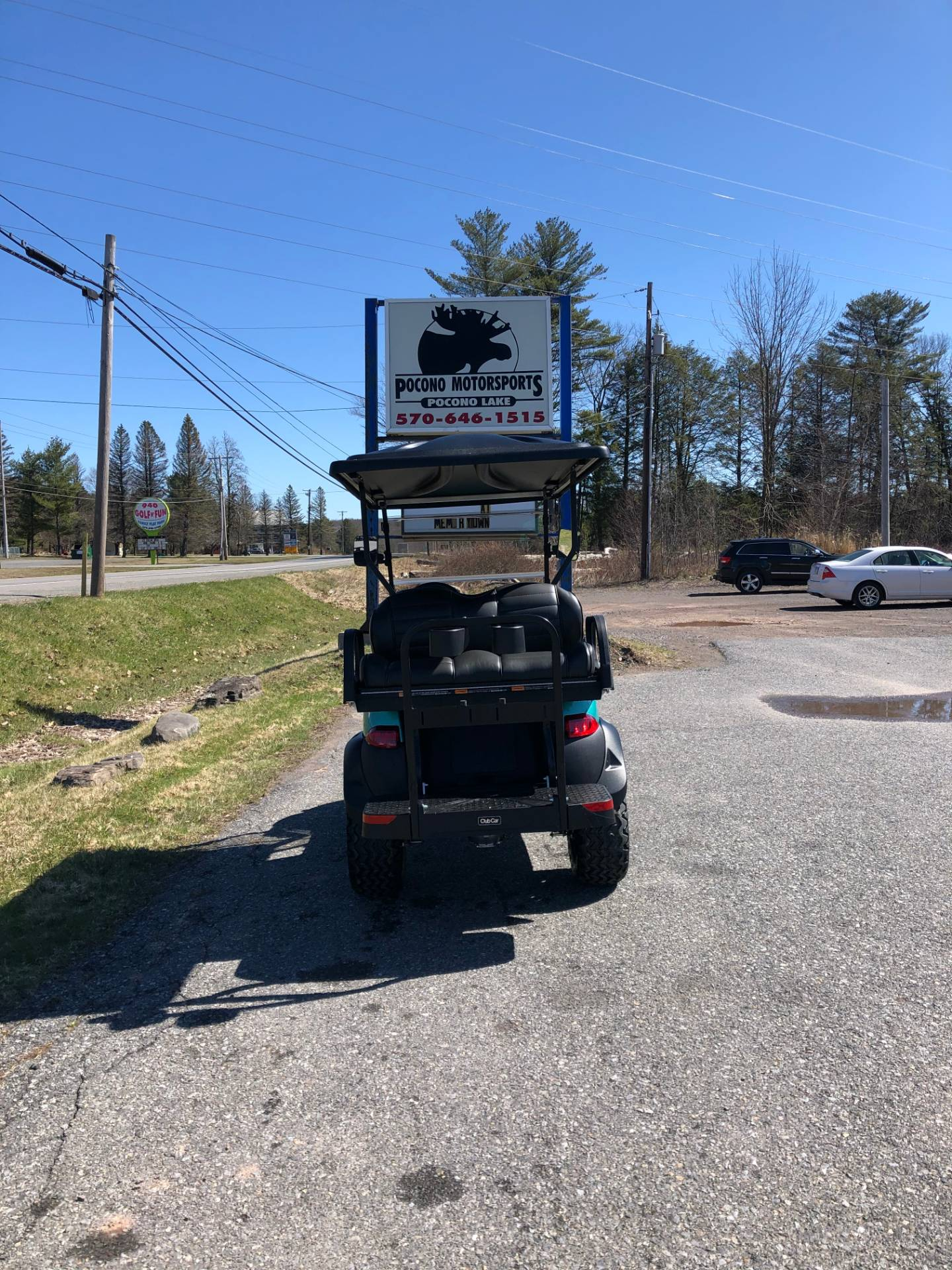 2020 Club Car Onward 4 Passenger Lifted Gas in Pocono Lake, Pennsylvania - Photo 3