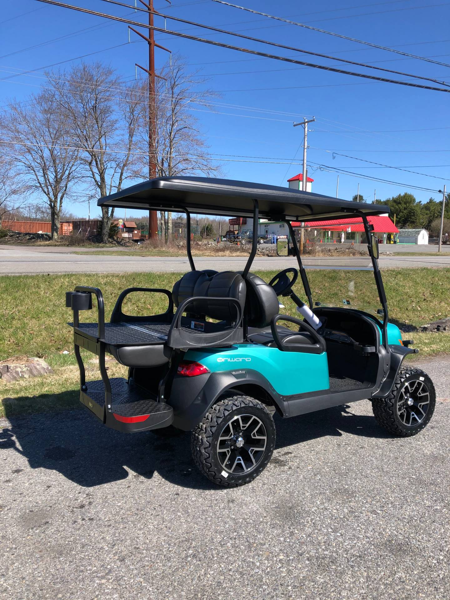 2020 Club Car Onward 4 Passenger Lifted Gas in Pocono Lake, Pennsylvania - Photo 5