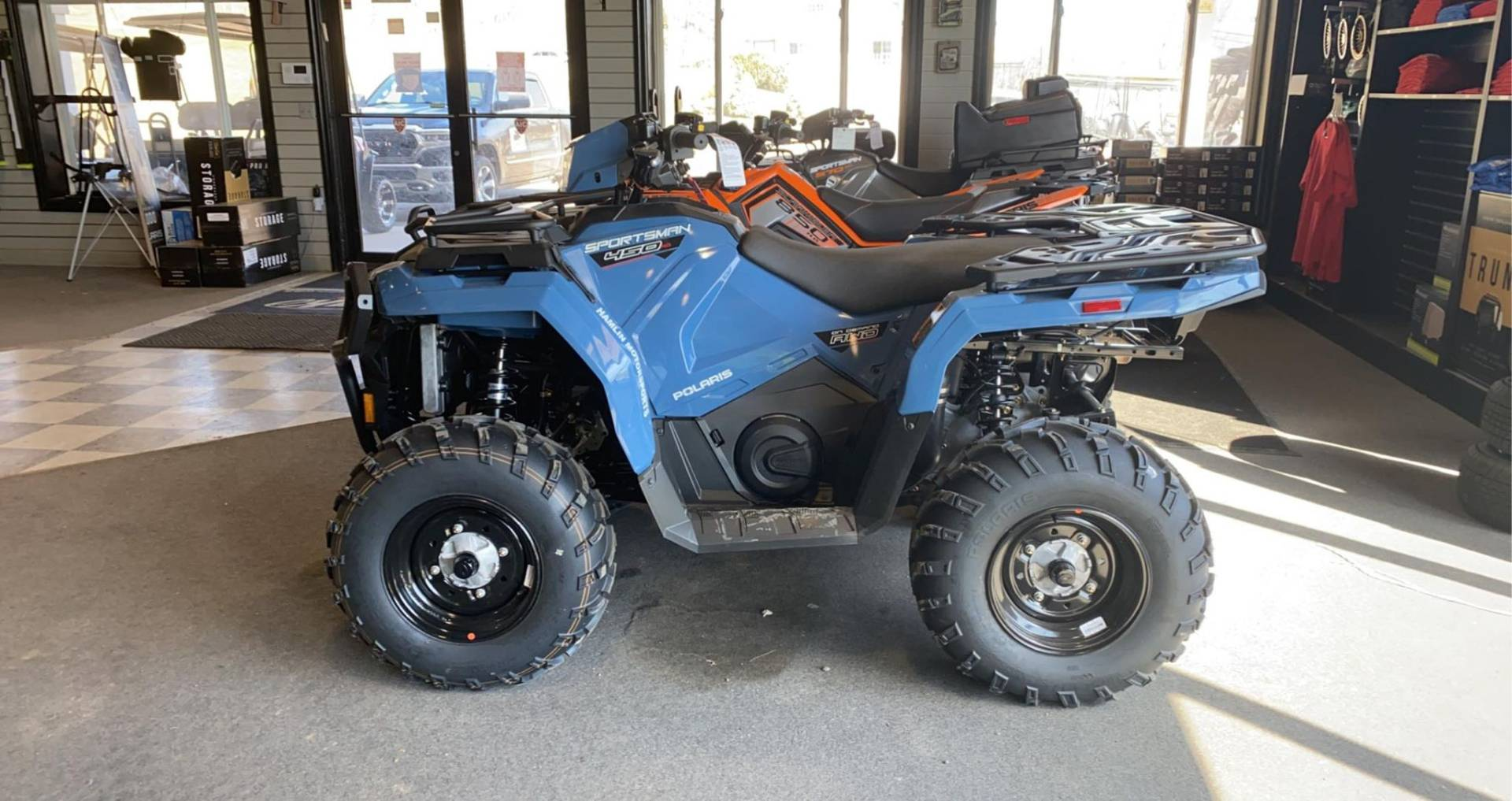 2021 Polaris SPOTSMAN 450 UTILITY in Lake Ariel, Pennsylvania