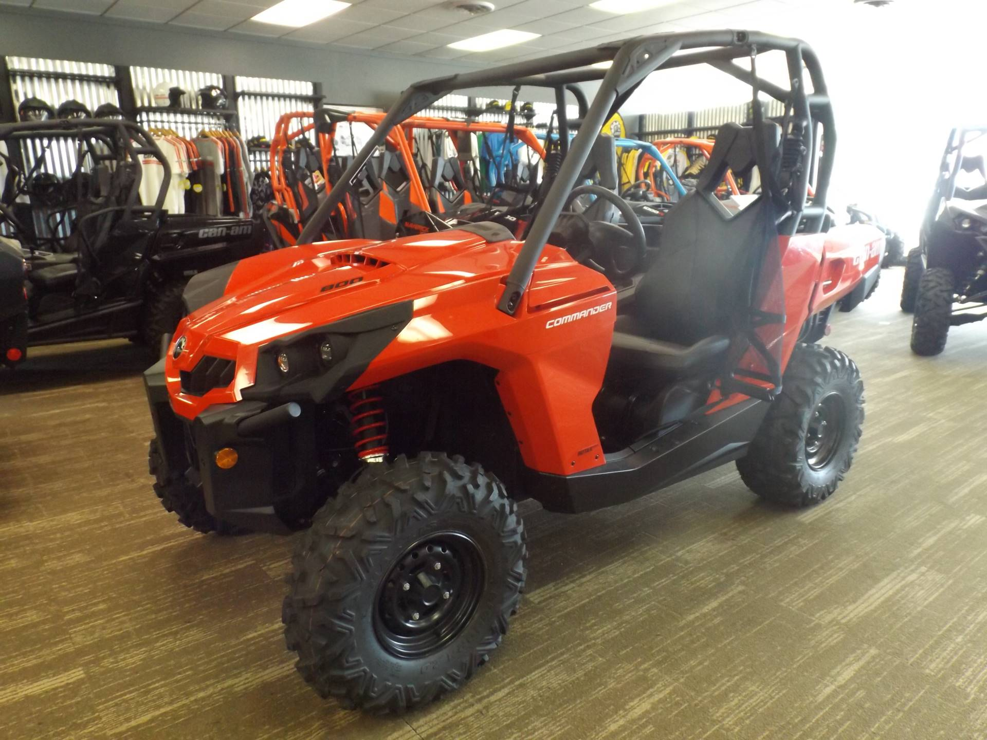 2017 Can Am Commander 800r Utility Vehicles Huntington West Virginia P0505cab