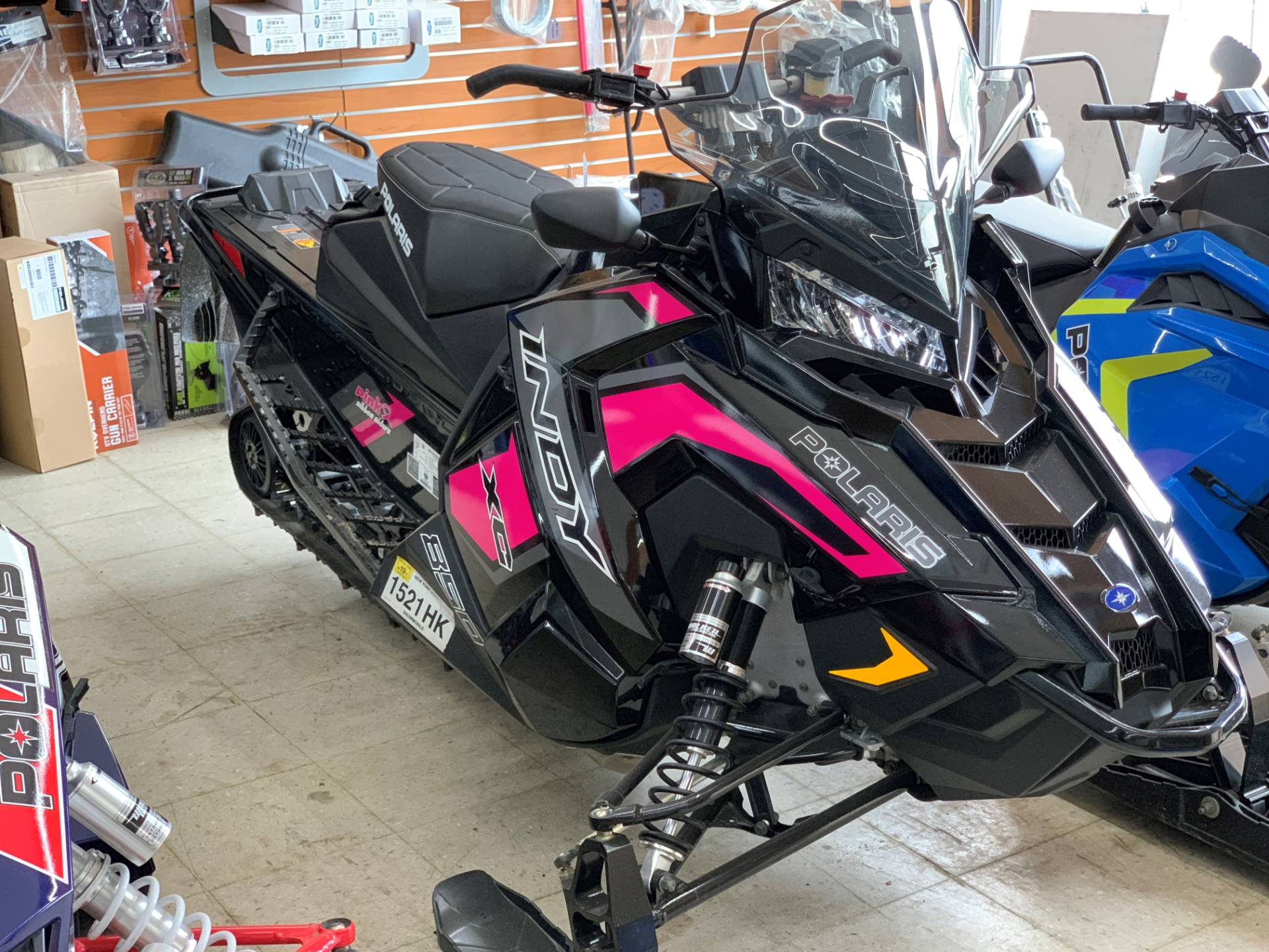 2019 Polaris 850 INDY XC 129 Snowcheck Select in Newport, New York - Photo 1