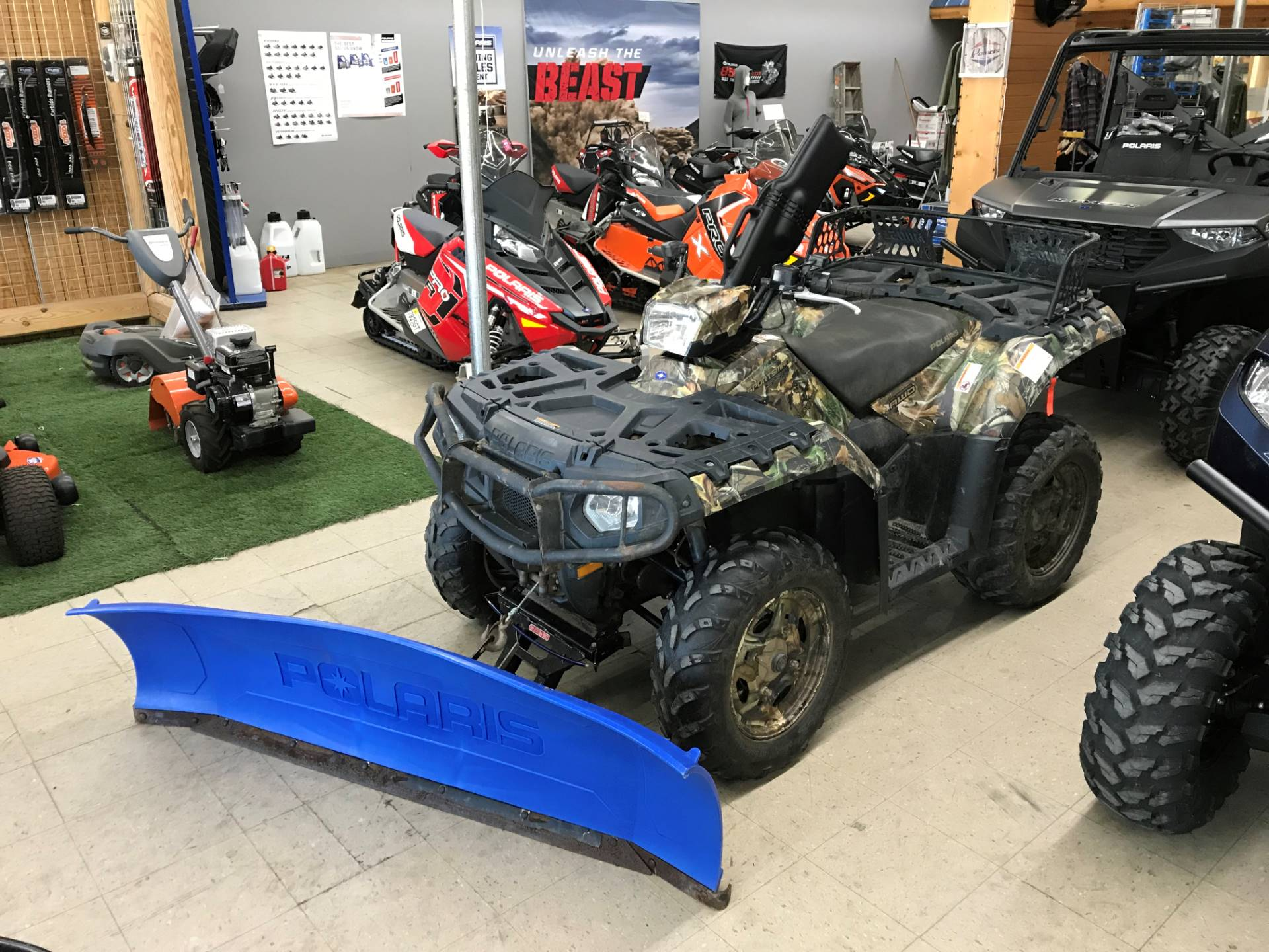 2012 Polaris Sportsman® 550 EPS Browning® LE in Newport, New York