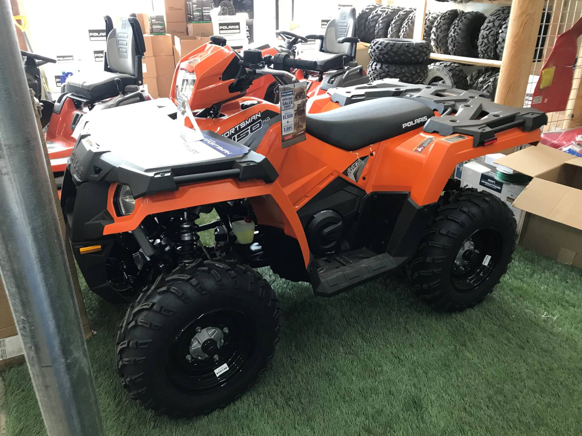2019 Polaris Sportsman 450 H.O. EPS LE in Newport, New York - Photo 1