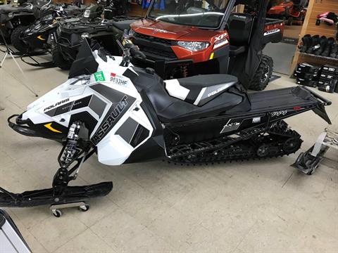 2018 Polaris 800 Switchback Assault 144 SnowCheck Select in Newport, New York - Photo 1