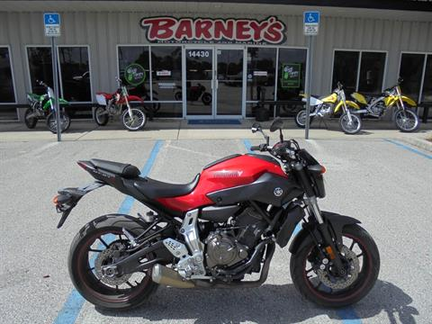 2015 Yamaha FZ-07 in Brooksville, Florida