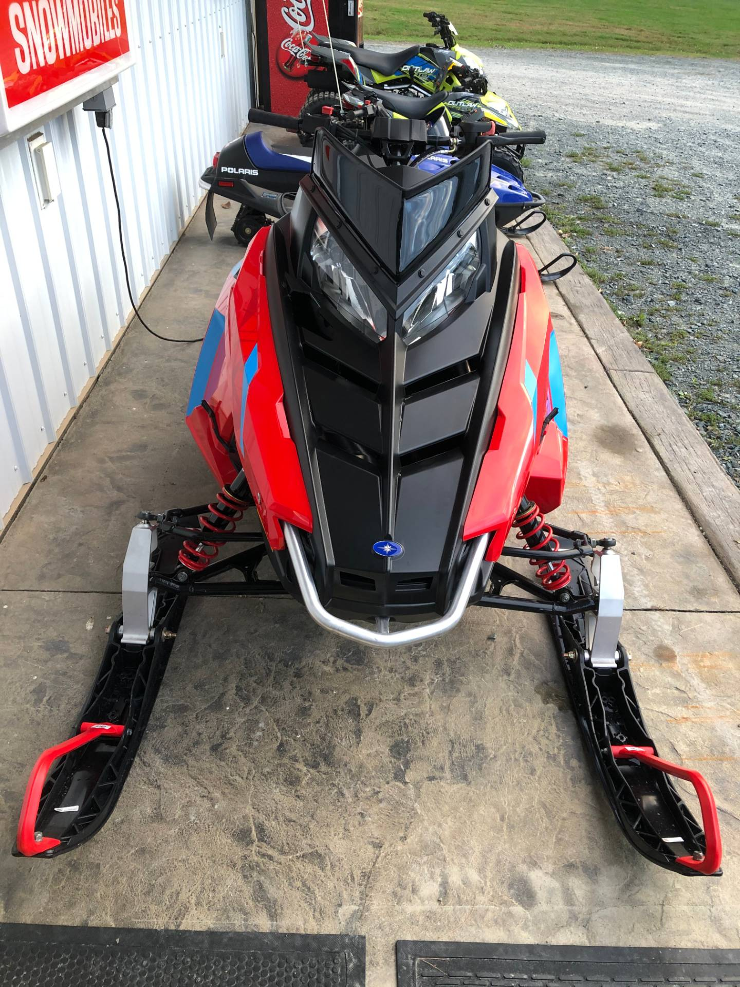 2020 Polaris 550 Indy EVO 121 ES in Troy, New York - Photo 3