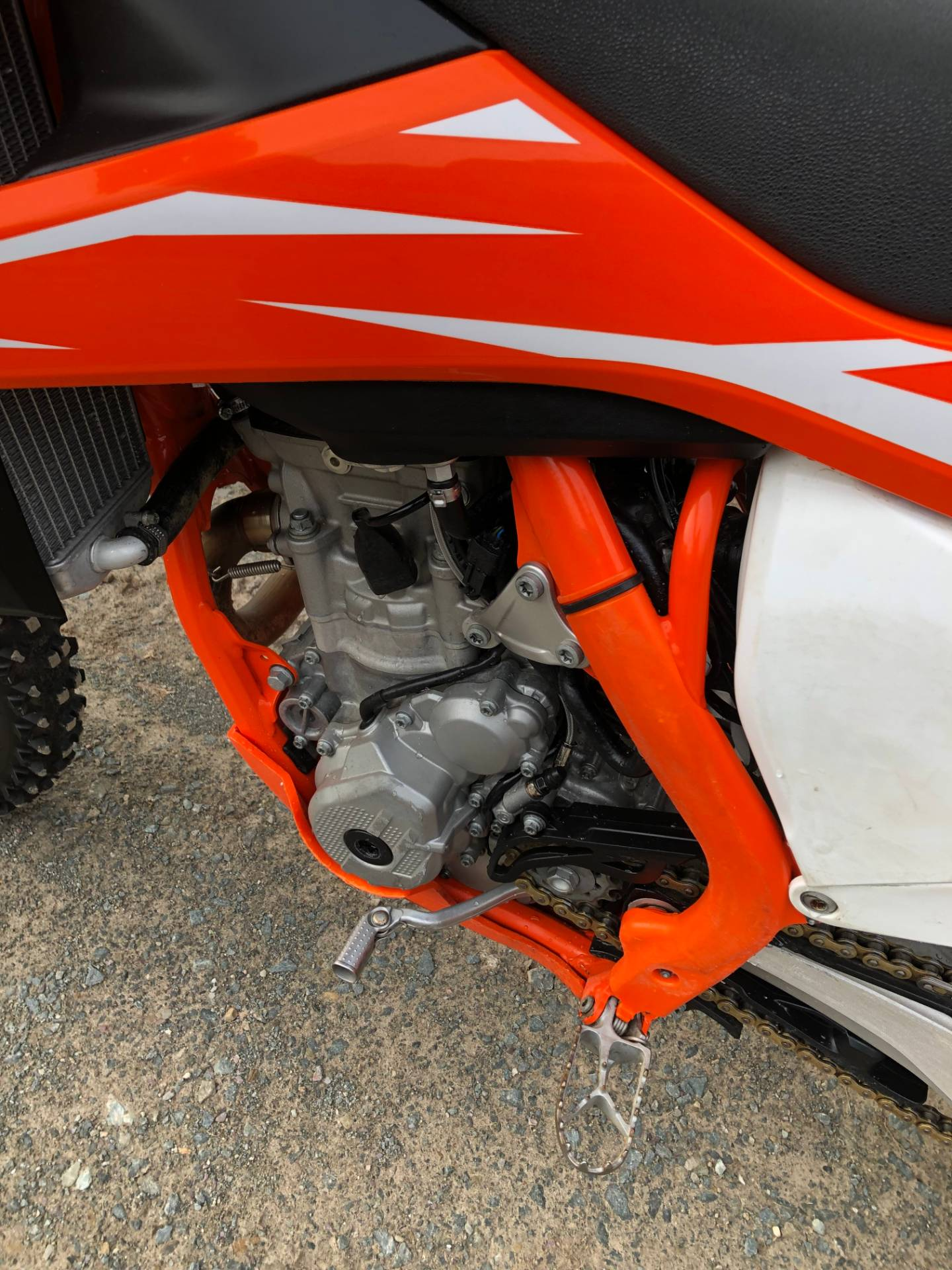 2018 KTM 250 SX-F in Troy, New York - Photo 6