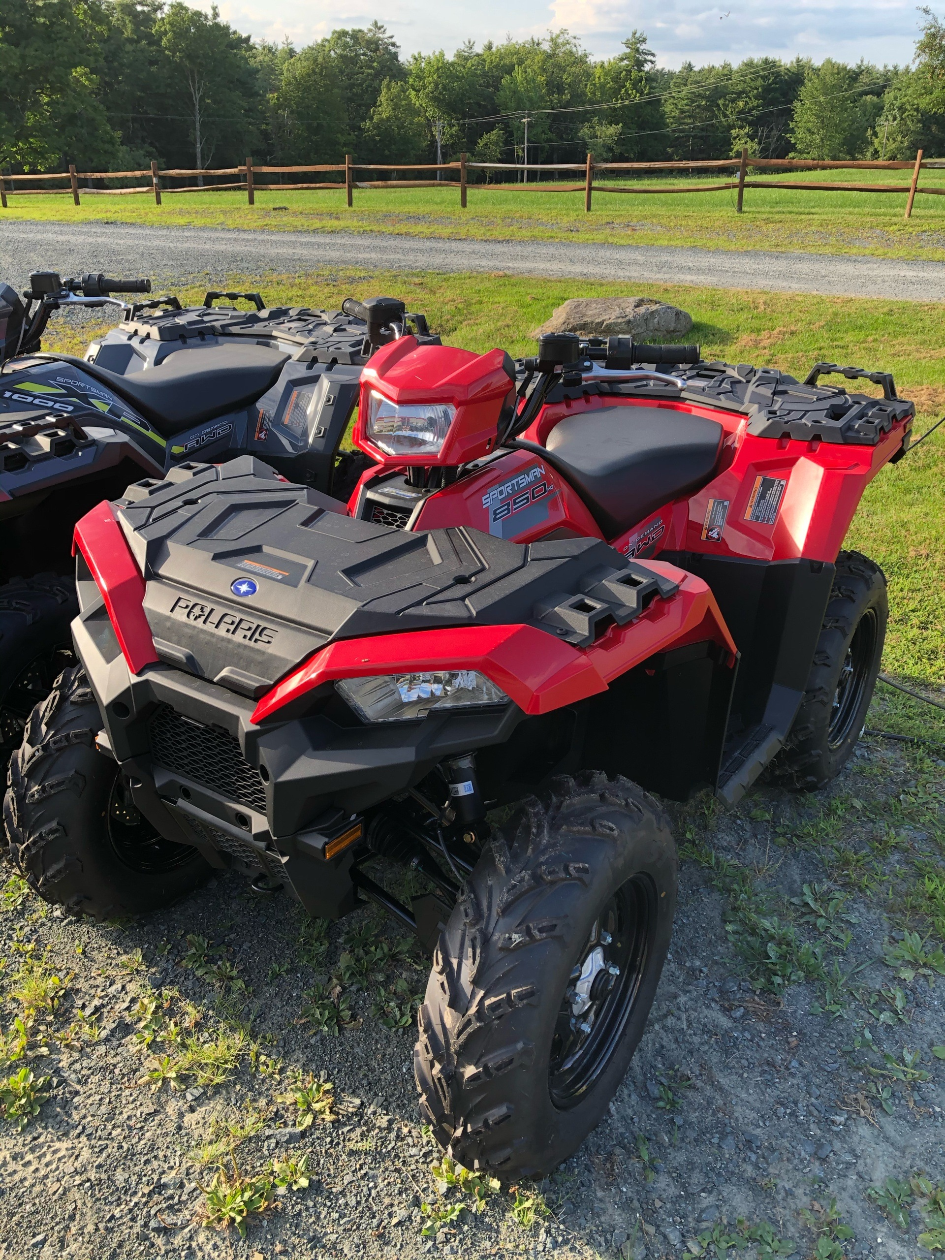 2020 Polaris Sportsman 850 in Troy, New York - Photo 1
