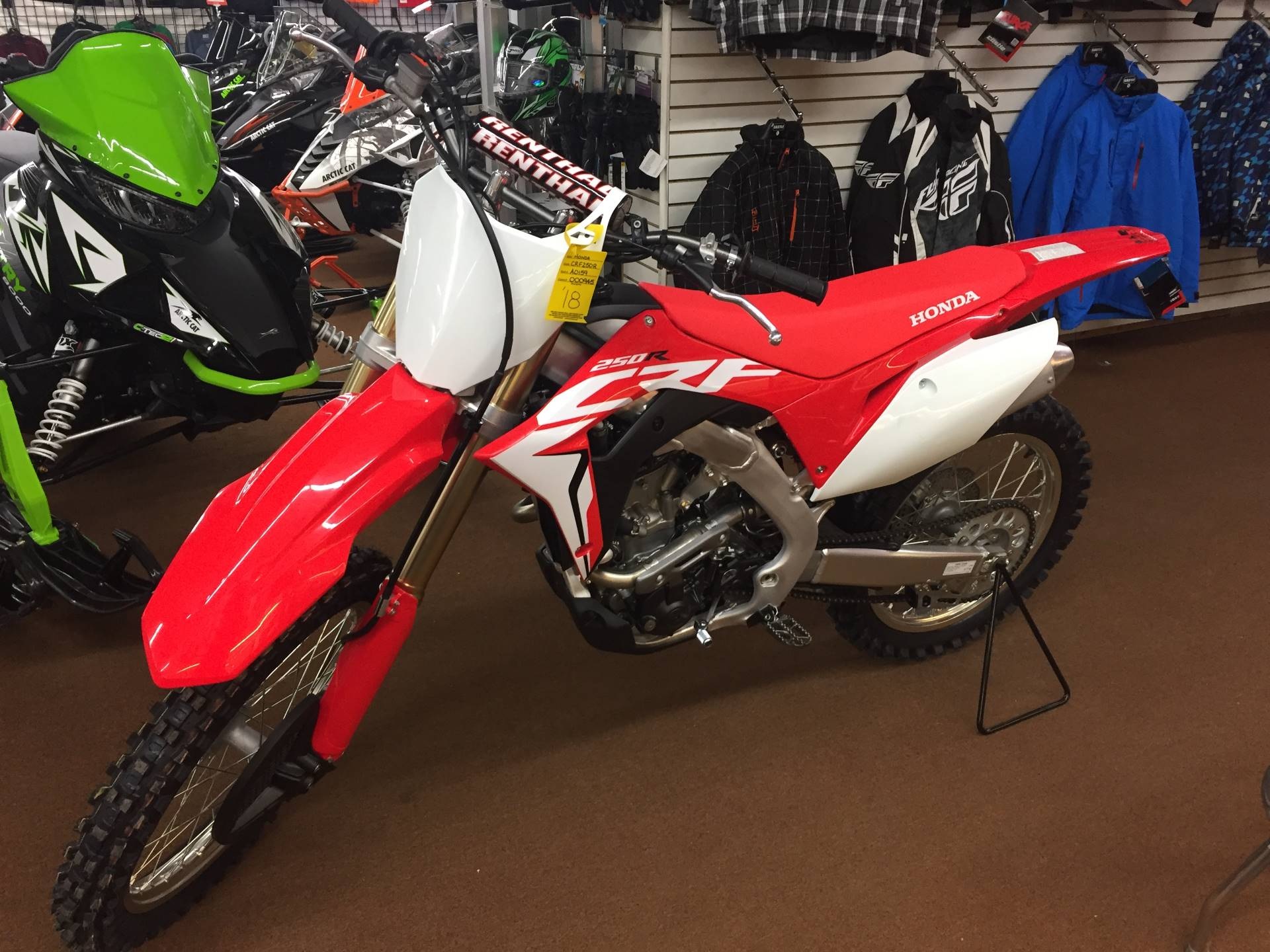 2018 Honda CRF250R in Valparaiso, Indiana - Photo 3