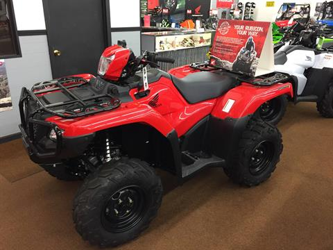 2016 Honda FourTrax Foreman Rubicon 4x4 Automatic DCT in Valparaiso, Indiana