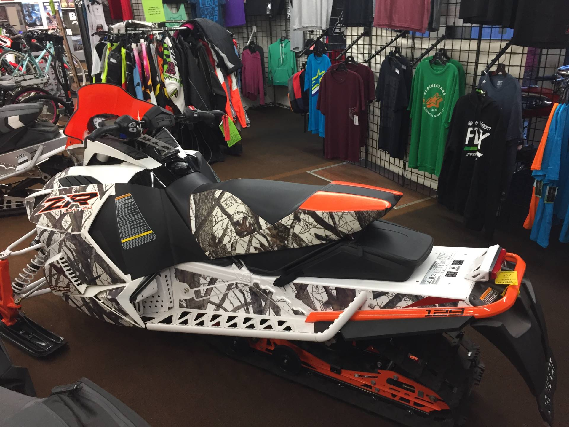 2017 Arctic Cat ZR 8000 Limited ES 129 in Valparaiso, Indiana