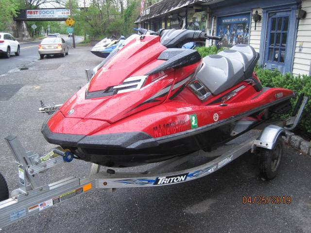 2015 Yamaha FX Cruiser SVHO® in Metuchen, New Jersey - Photo 3