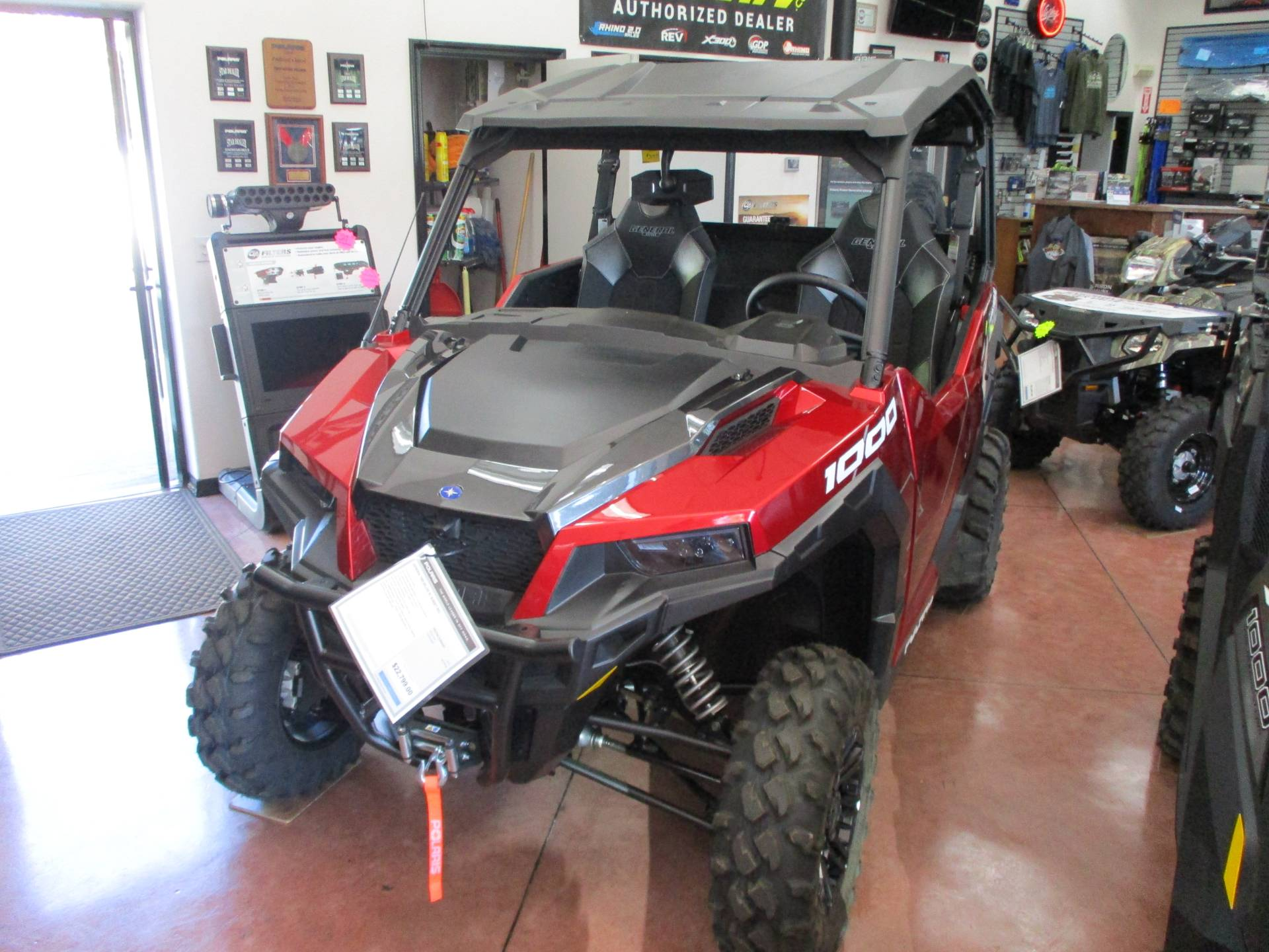 2020 Polaris General 1000 Deluxe Ride Command Package in Yuba City, California - Photo 1