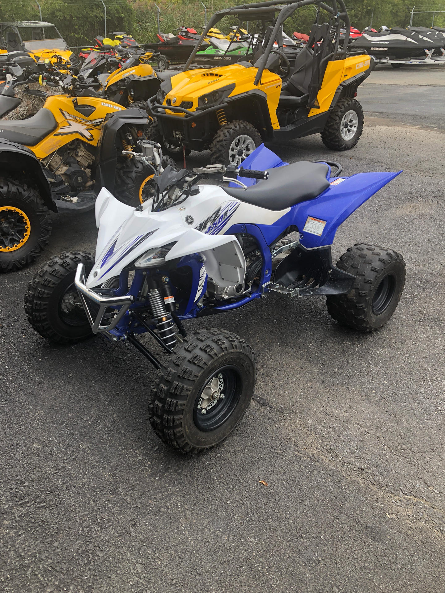 2016 Yamaha YFZ 450 in Cohoes, New York