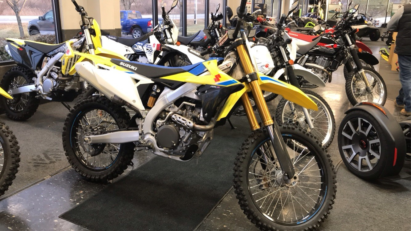 2018 Suzuki RM-Z450 in Cohoes, New York - Photo 1