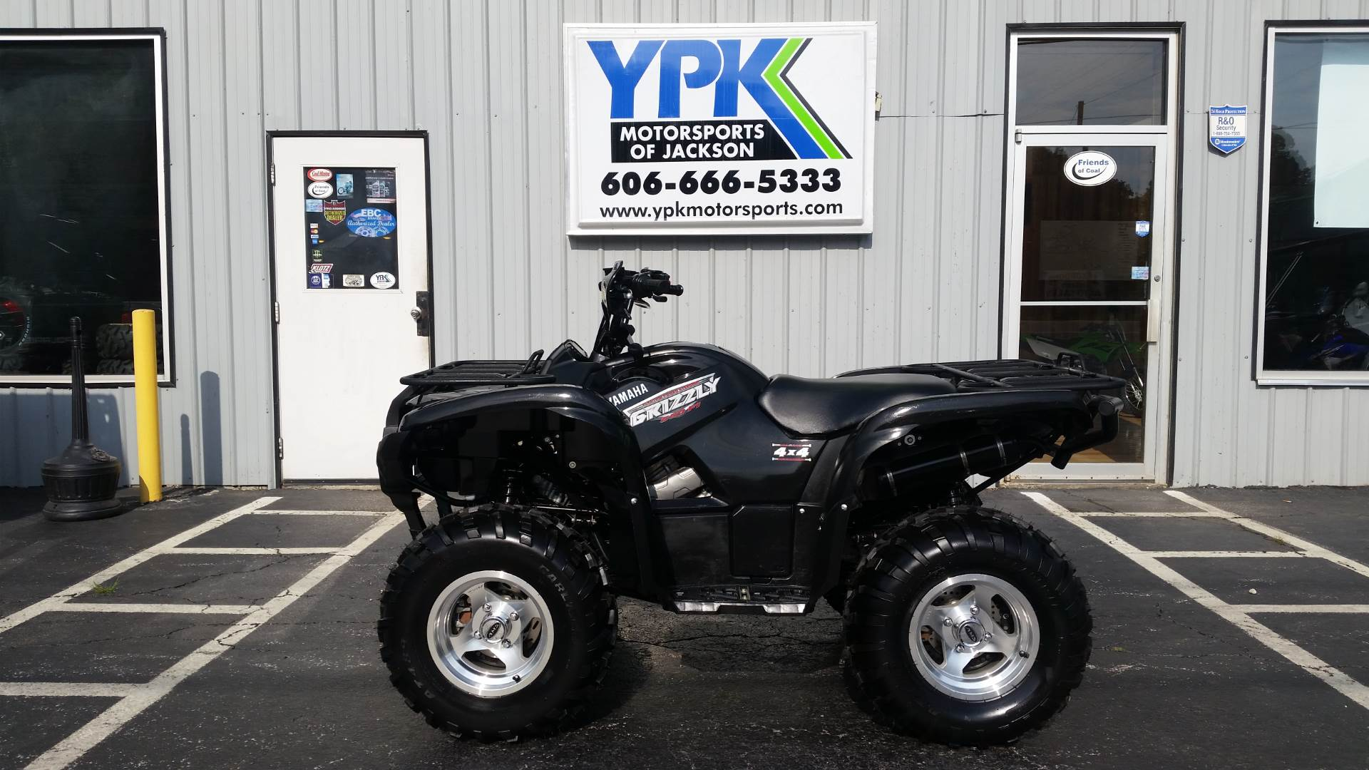 2009 yamaha grizzly 550 fi auto 4x4 eps for sale for Yamaha dealers in kentucky