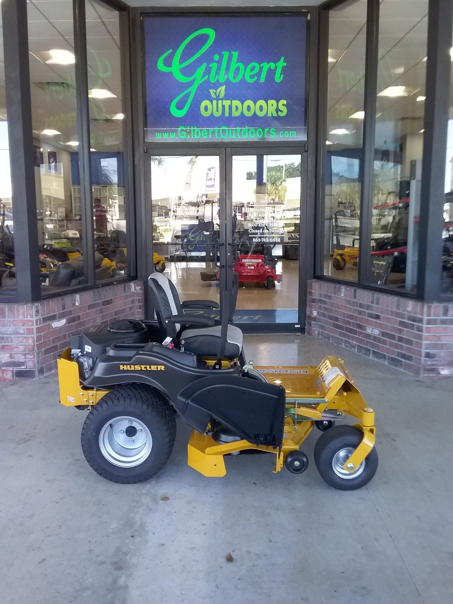 2019 Hustler Turf Equipment Raptor SD 54 in. Kawasaki FR691 Zero Turn Mower in Okeechobee, Florida - Photo 1