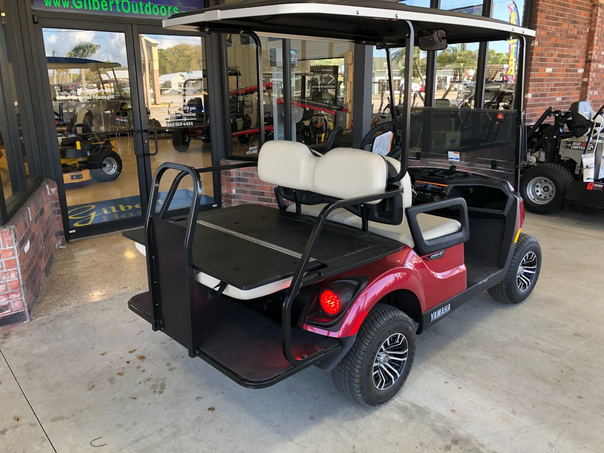 2019 Yamaha Adventurer Sport 2+2 (Electric) in Okeechobee, Florida