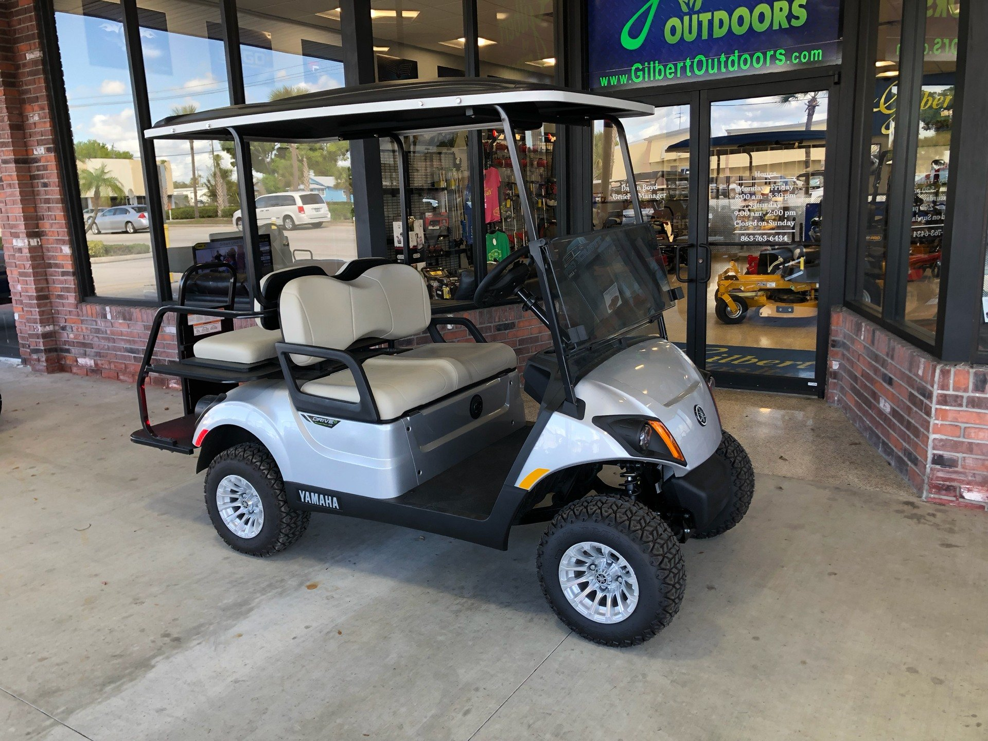 2019 Yamaha Adventurer Sport 2+2 (Electric) in Okeechobee, Florida - Photo 3
