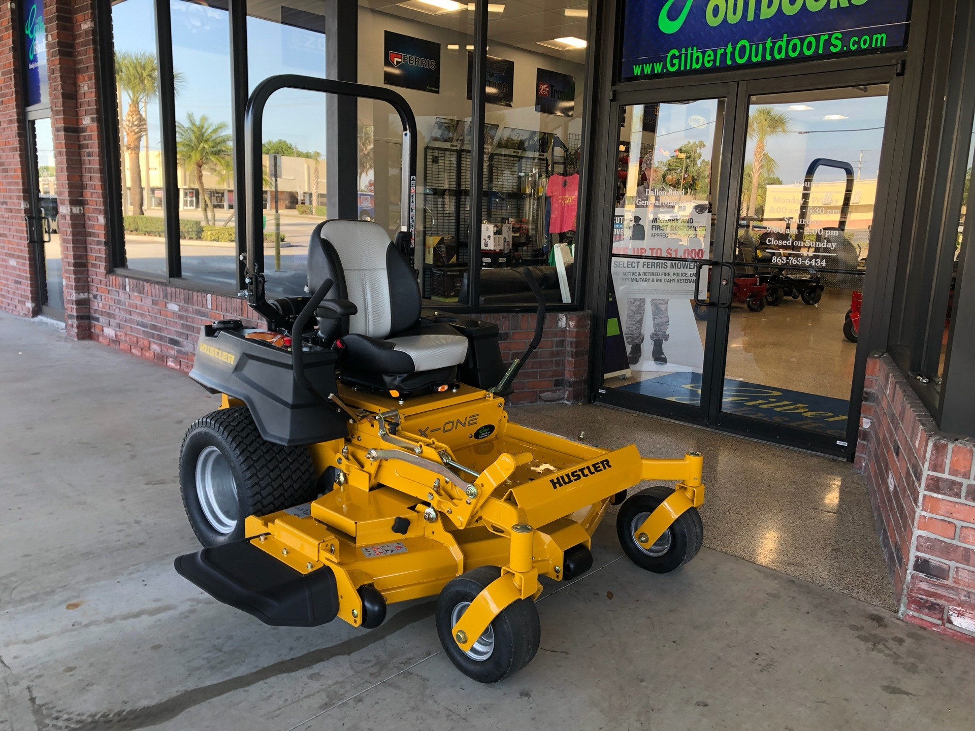 2019 Hustler Turf Equipment X-ONE in Okeechobee, Florida - Photo 2