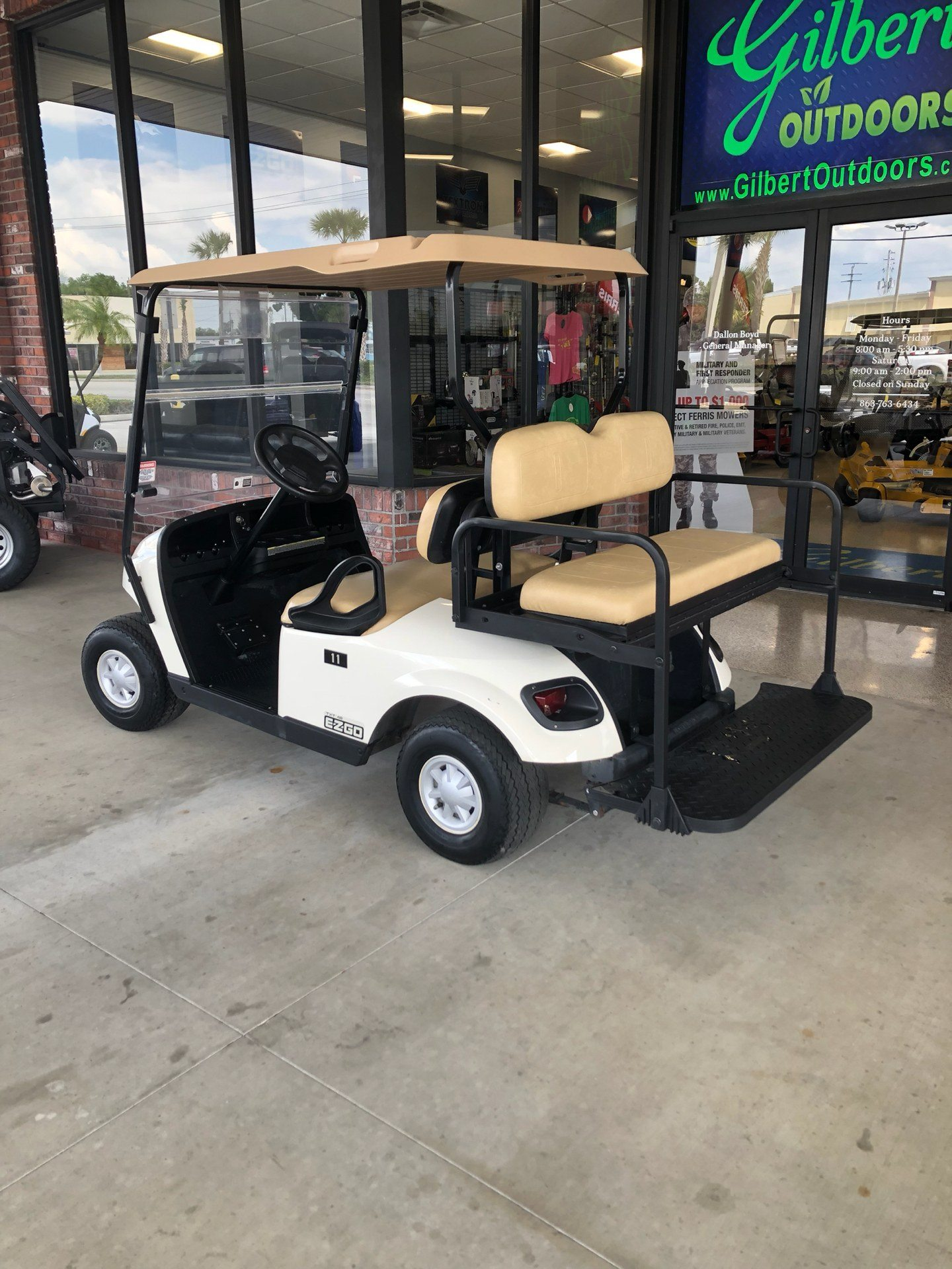 2016 E-Z-Go TXT Electric in Okeechobee, Florida