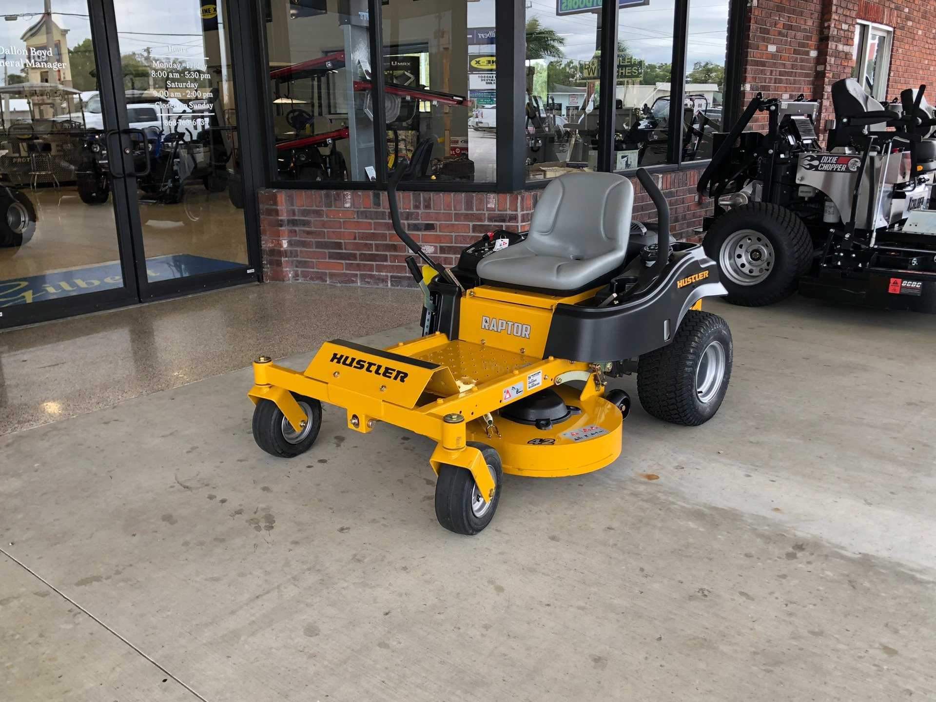 2019 Hustler Turf Equipment Raptor 52 in. Kohler 7000 HD Zero Turn Mower in Okeechobee, Florida - Photo 2