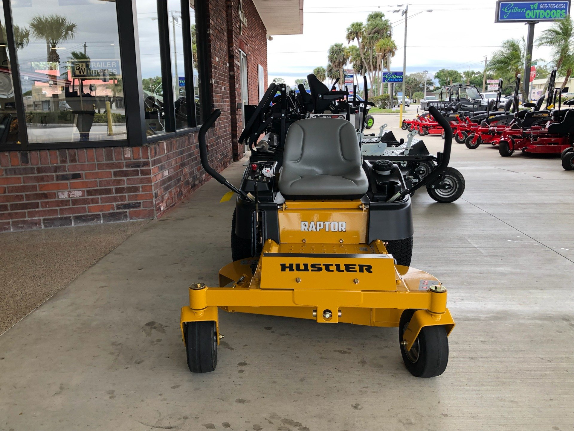 2019 Hustler Turf Equipment Raptor 52 in. Kohler 7000 HD in Okeechobee, Florida