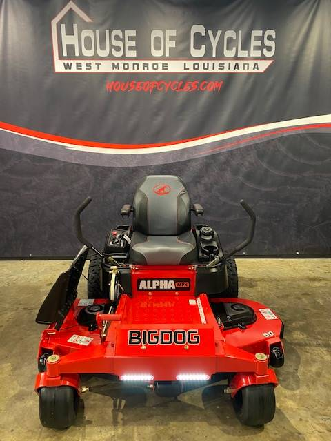 "Big Dog Mowers Alpha MPX 60"" in West Monroe, Louisiana - Photo 2"