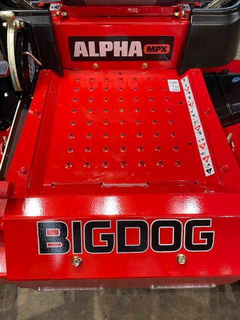 "Big Dog Mowers Alpha MPX 60"" in West Monroe, Louisiana - Photo 8"