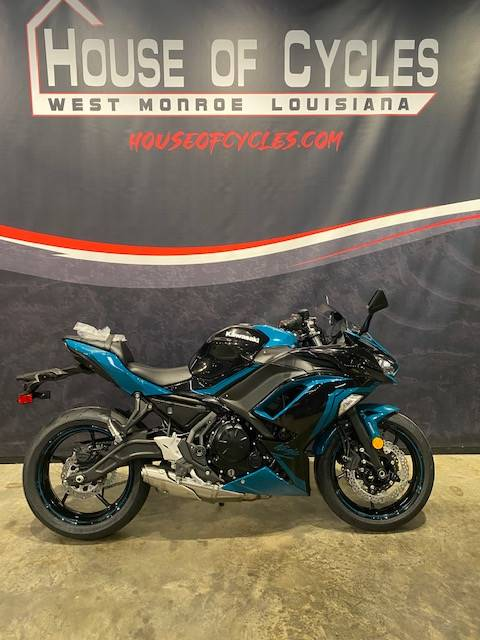 2021 Kawasaki Ninja 650 ABS in West Monroe, Louisiana - Photo 4