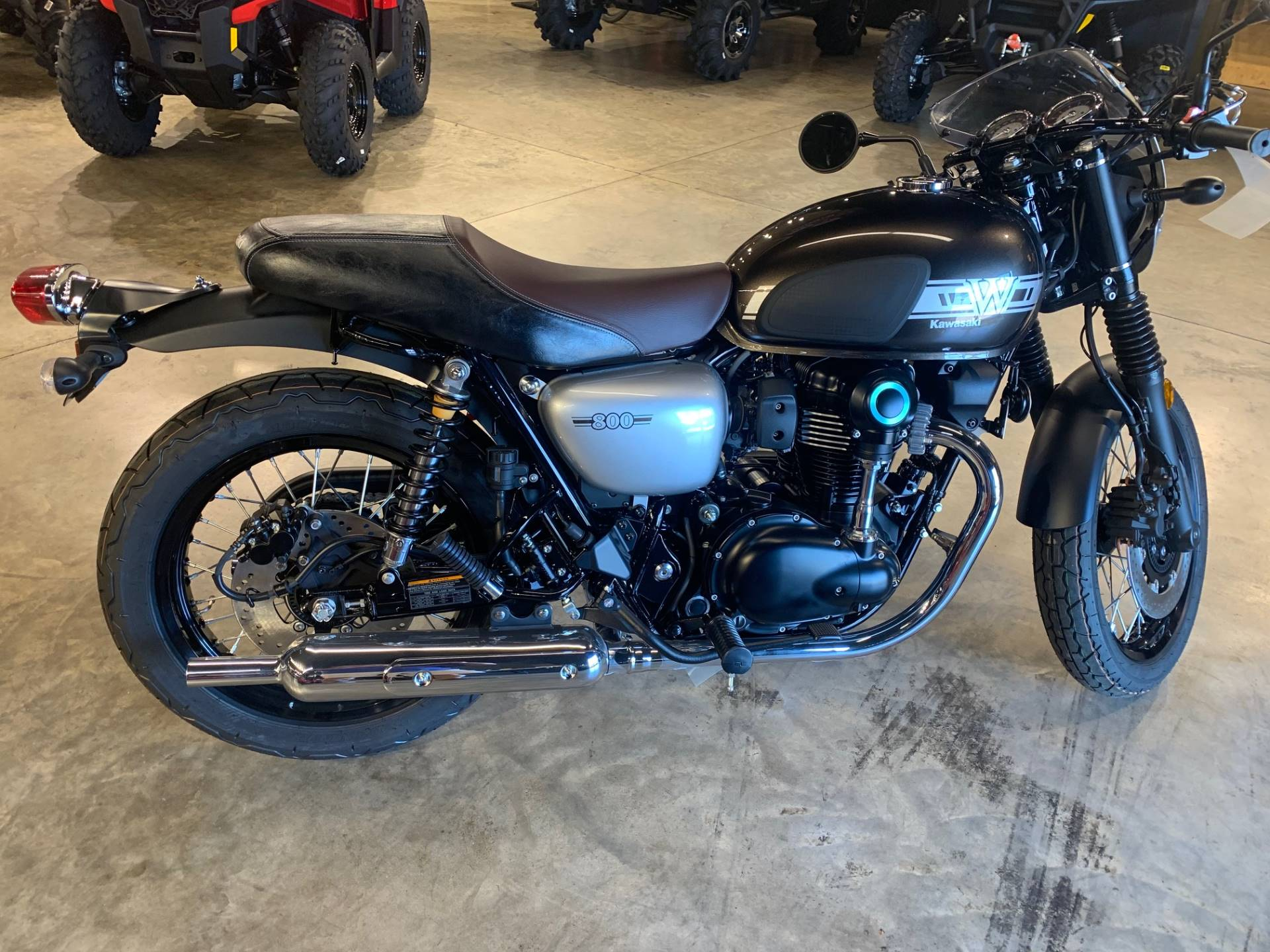 2019 Kawasaki W800 Cafe in West Monroe, Louisiana - Photo 1