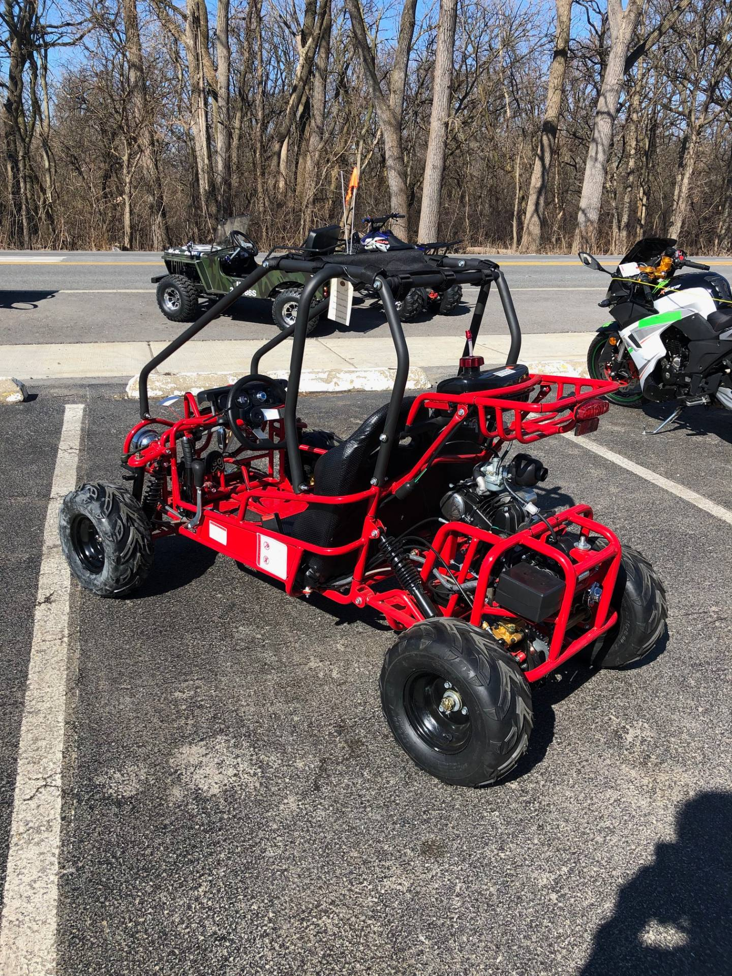 2019 Taotao USA 110cc in Forest View, Illinois - Photo 1