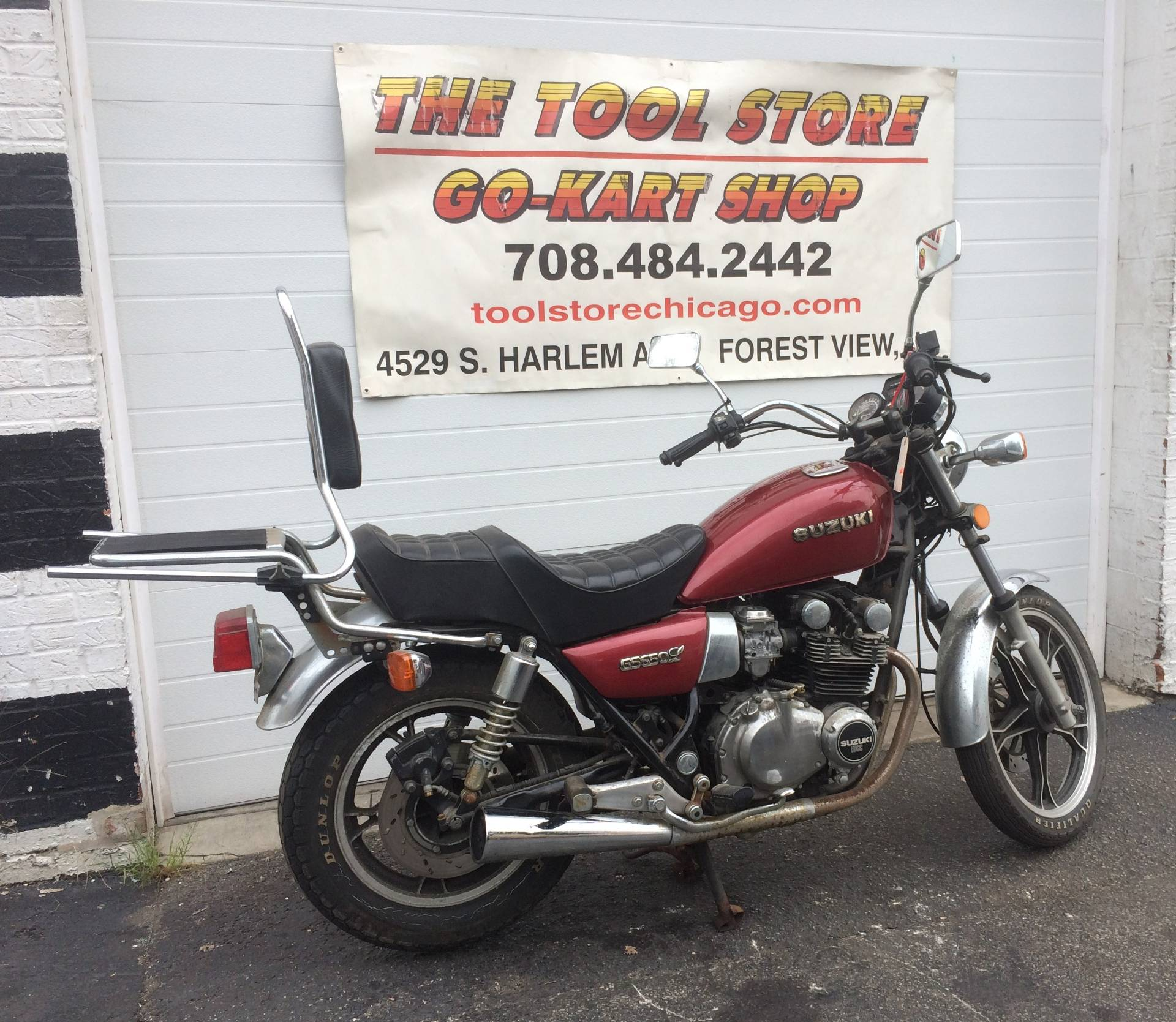 1983 Suzuki Motorcycle GS650cc in Forest View, Illinois - Photo 1