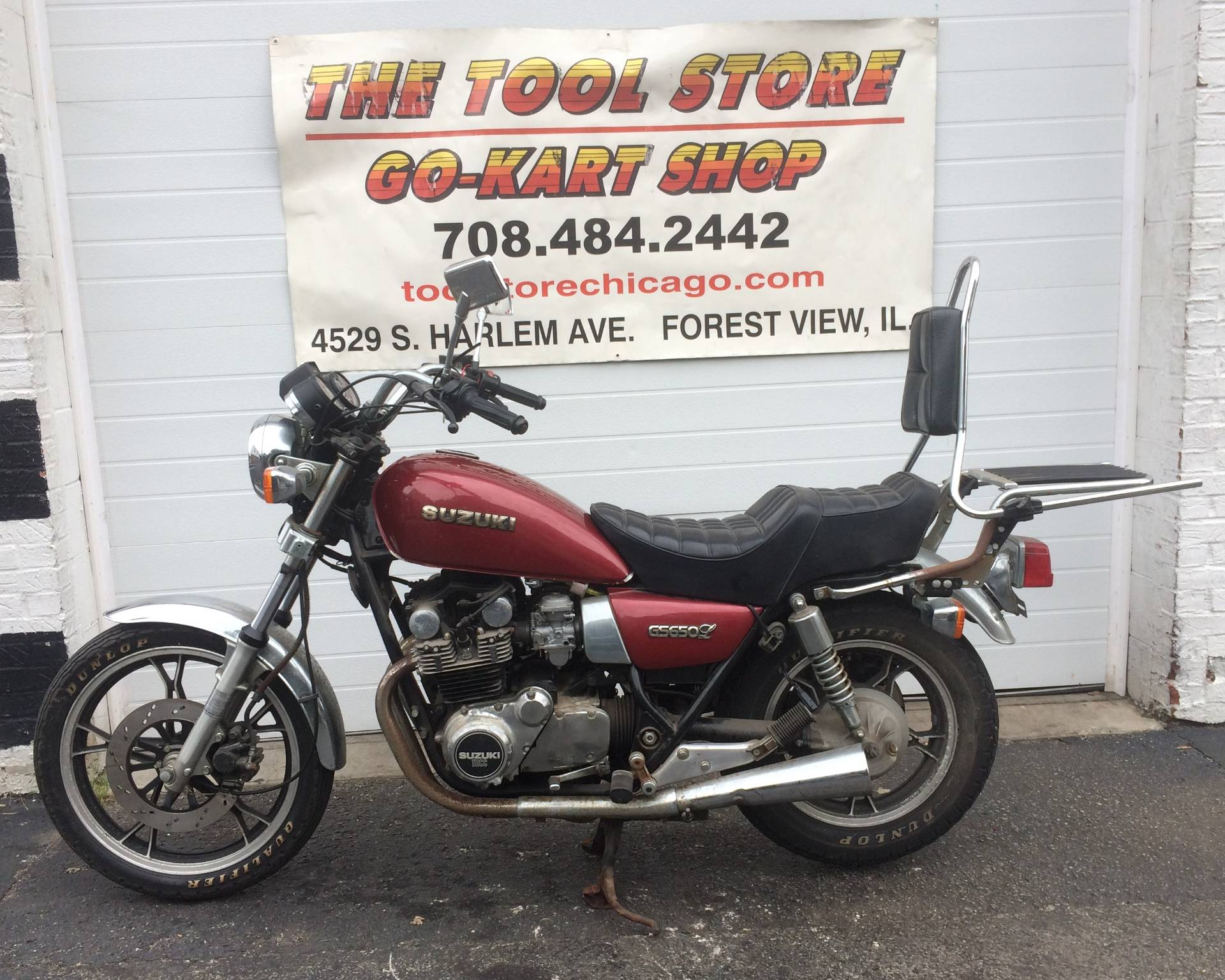1983 Suzuki Motorcycle GS650cc in Forest View, Illinois - Photo 2