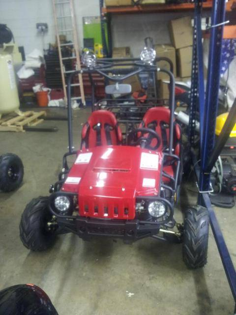 2018 Other Rocketa Jeep Go-Kart 125cc in Forest View, Illinois
