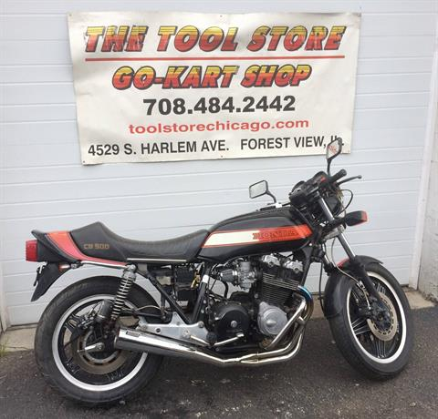 1981 Honda CB900cc in Forest View, Illinois