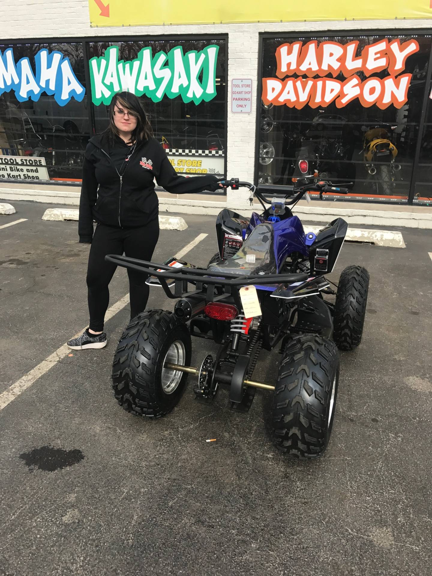 2018 Coolster ATV 150cc in Forest View, Illinois