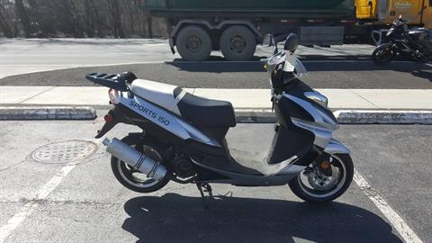 2018 Taotao USA Sport Scooter 150cc in Forest View, Illinois