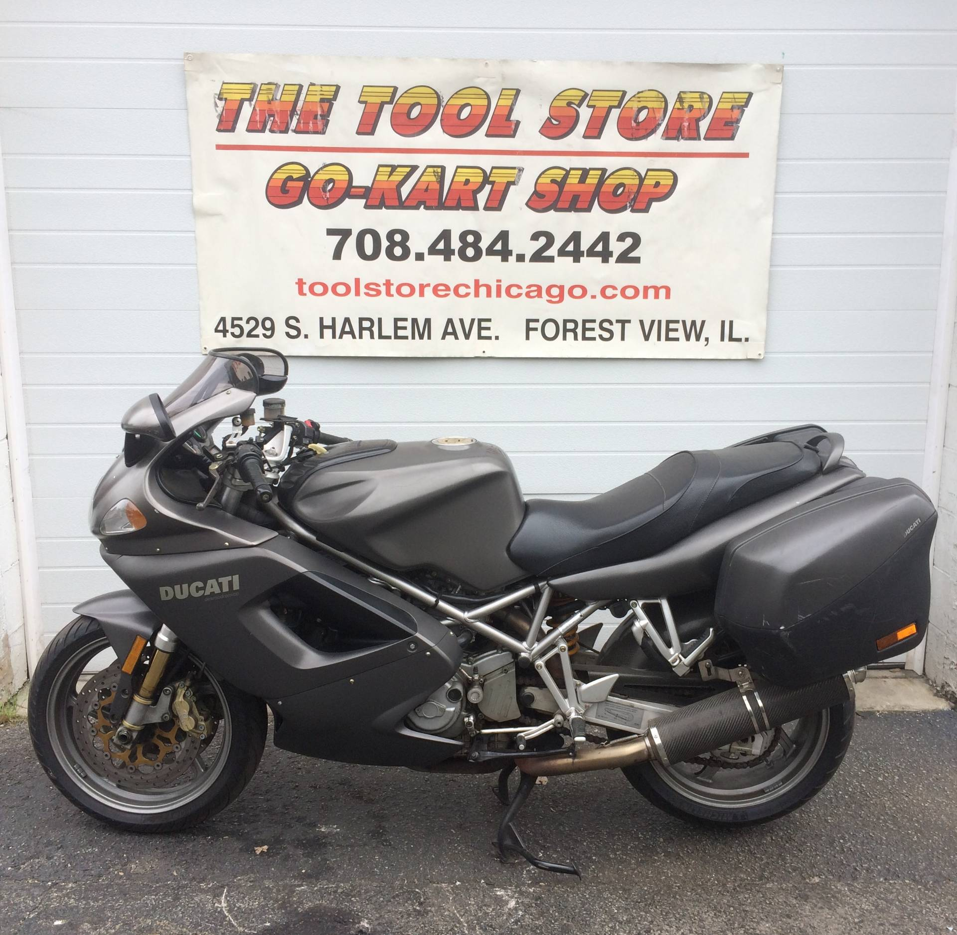 2002 Ducati 996 SuperSport in Forest View, Illinois