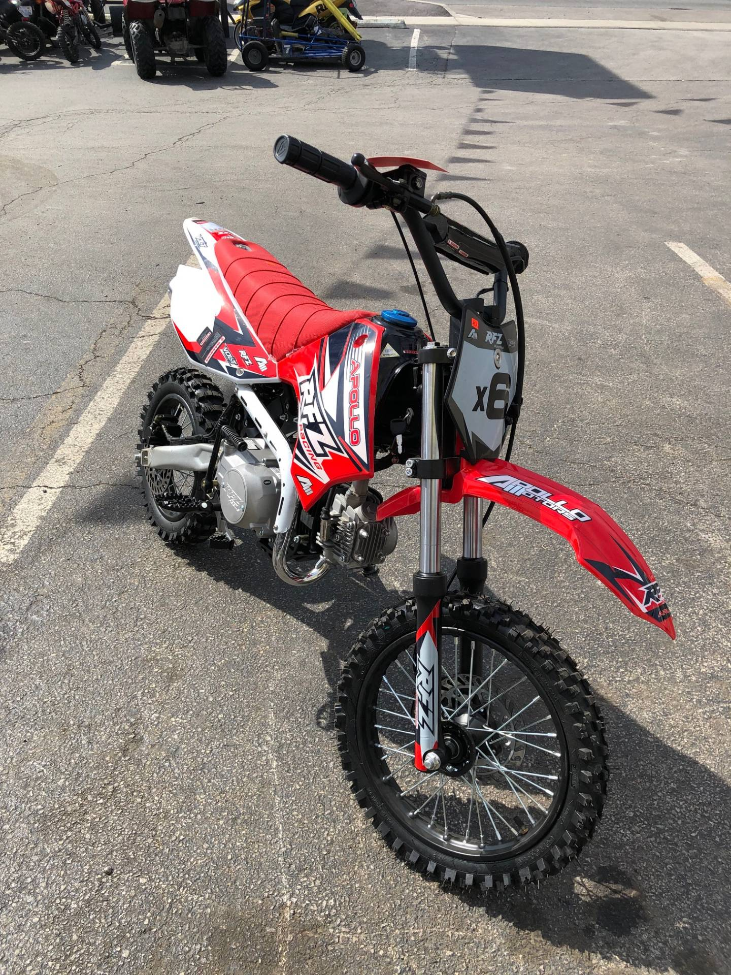 2017 Apollo x6 125cc in Forest View, Illinois - Photo 2