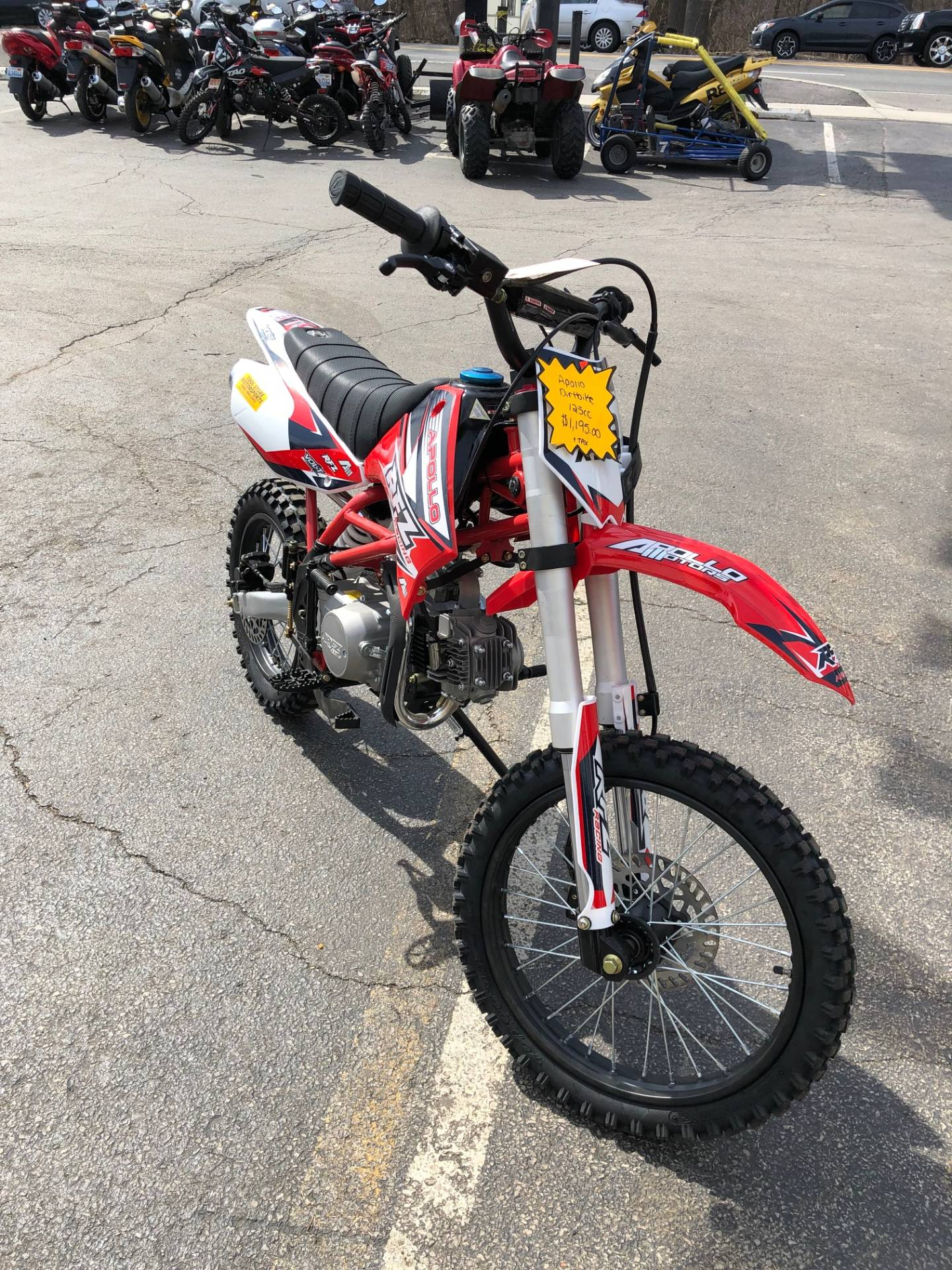 2018 Apollo x18 125cc in Forest View, Illinois - Photo 3