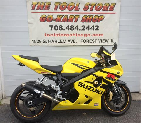 2005 Suzuki GSXR600 in Forest View, Illinois