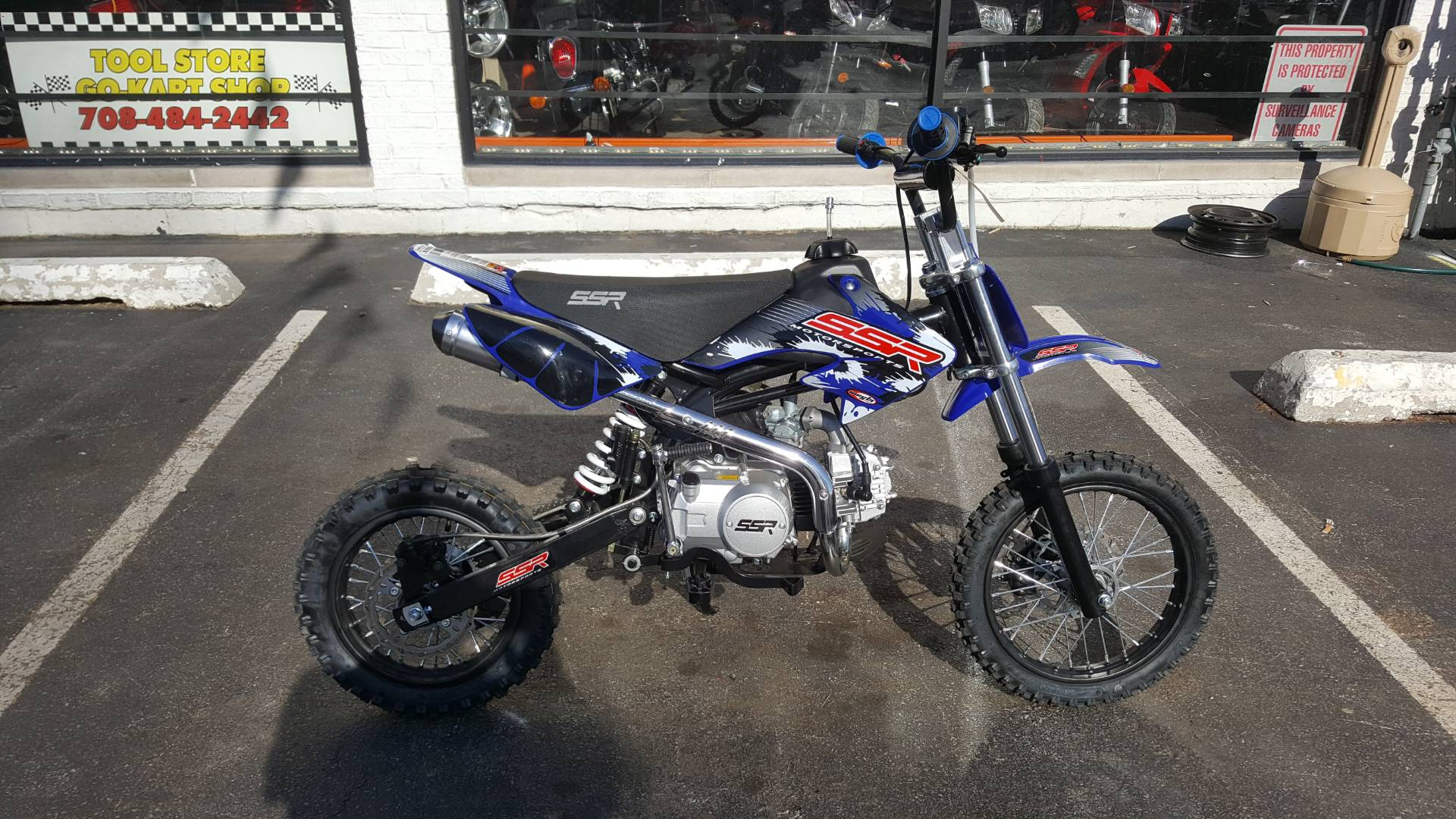 2018 SSR Motorsports Dirtbike 70cc in Forest View, Illinois