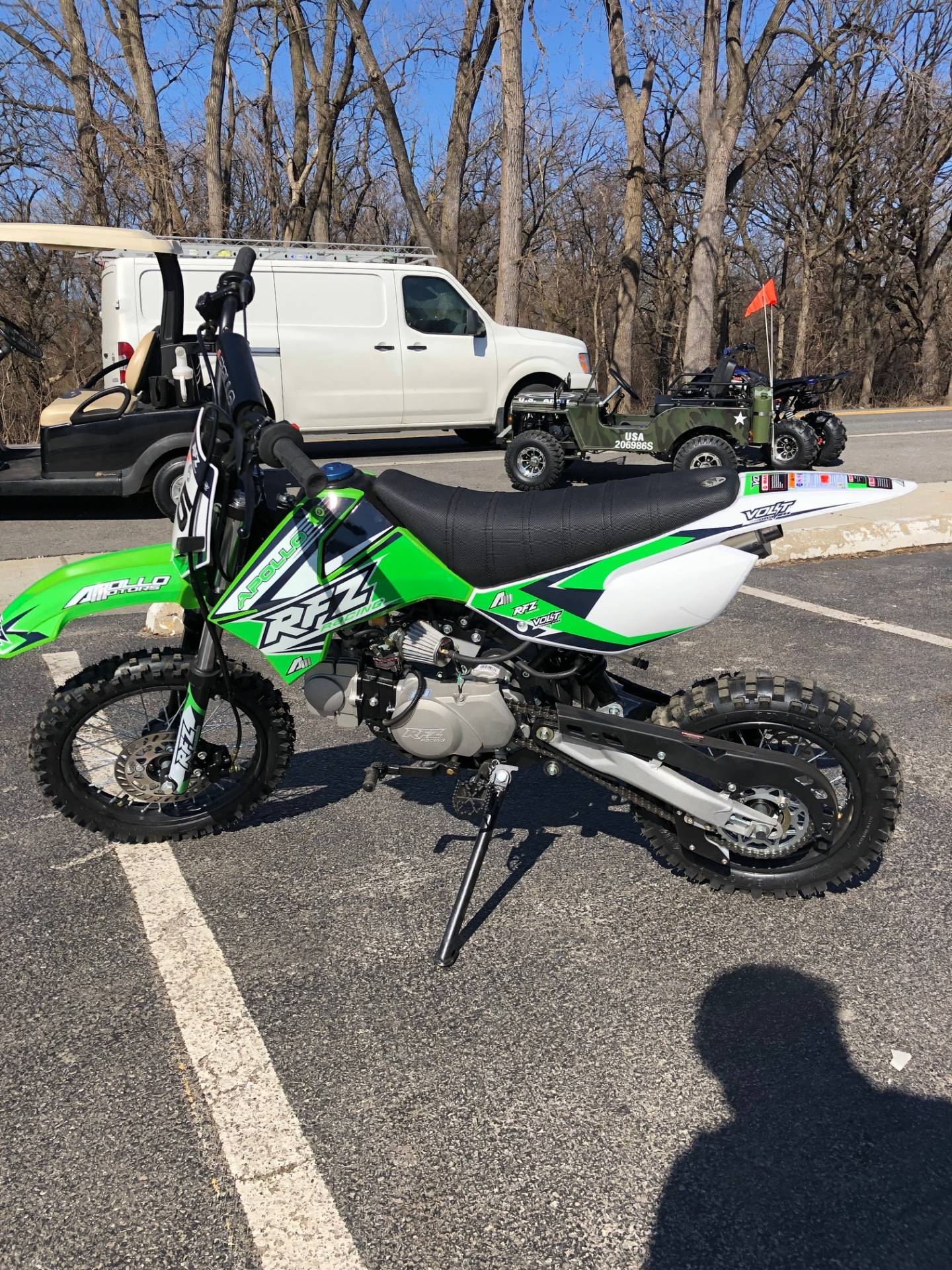 2018 Apollo RFZ 125cc in Forest View, Illinois - Photo 1