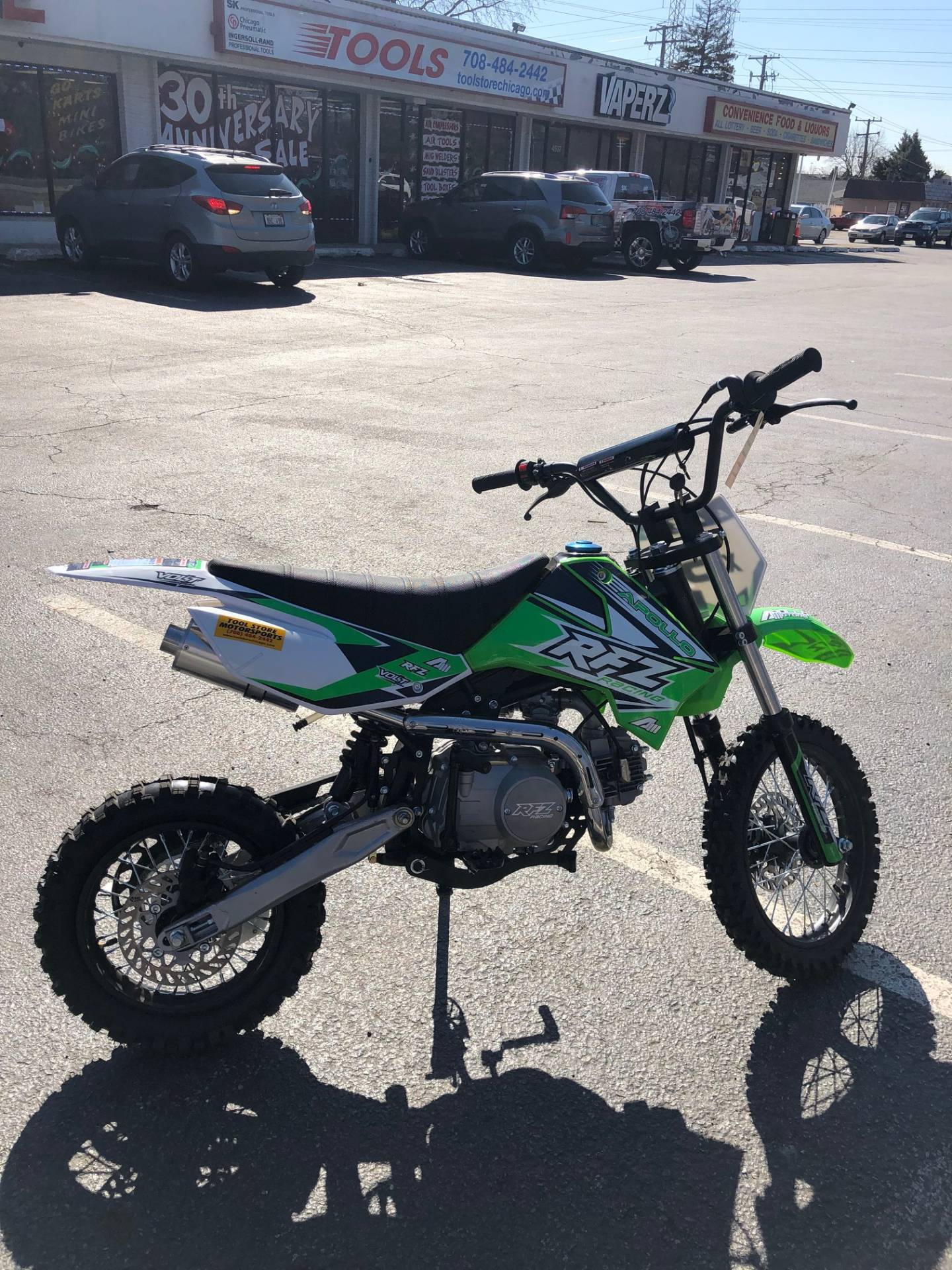 2018 Apollo RFZ 125cc in Forest View, Illinois - Photo 3
