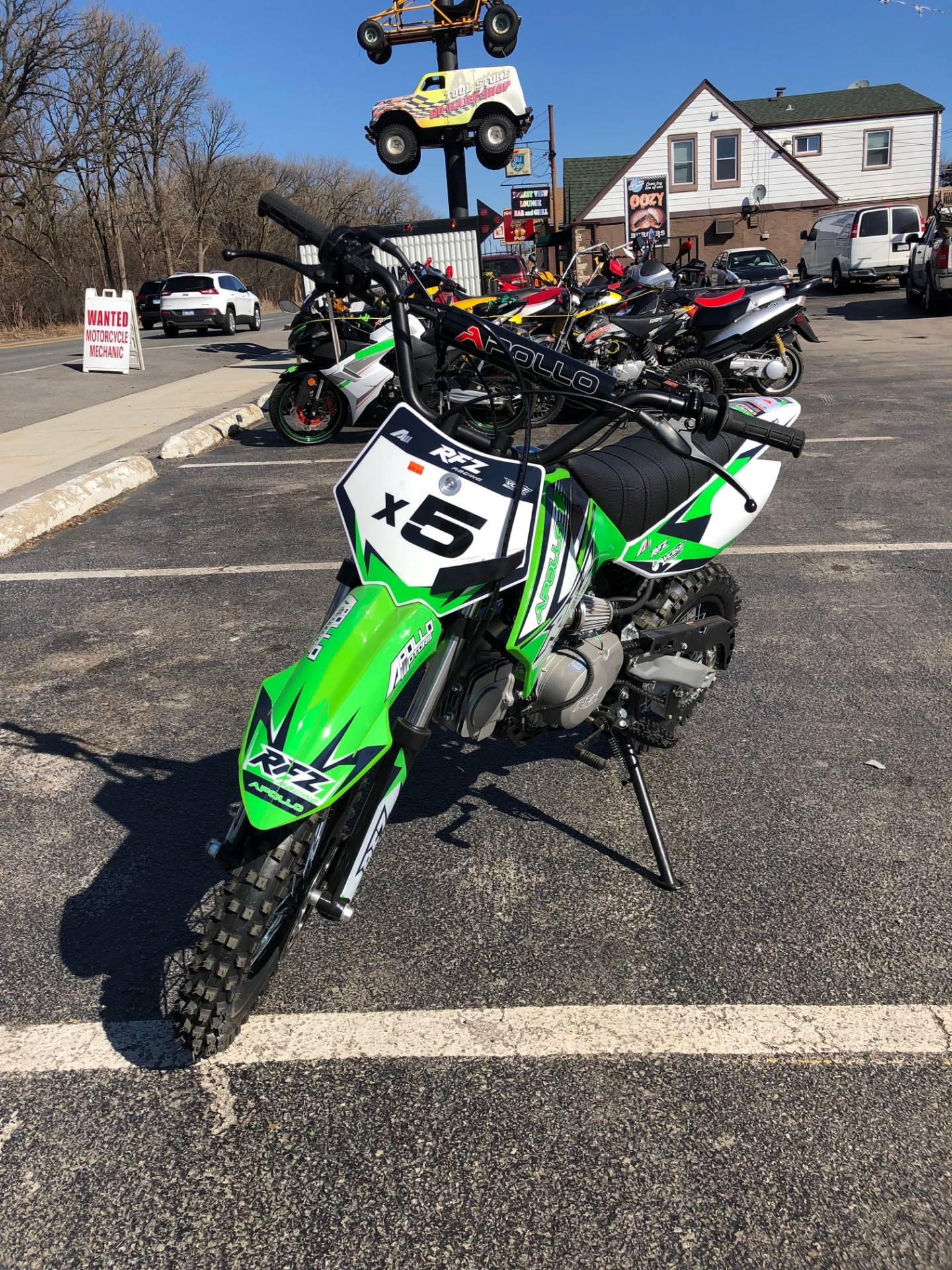 2018 Apollo RFZ 125cc in Forest View, Illinois - Photo 4
