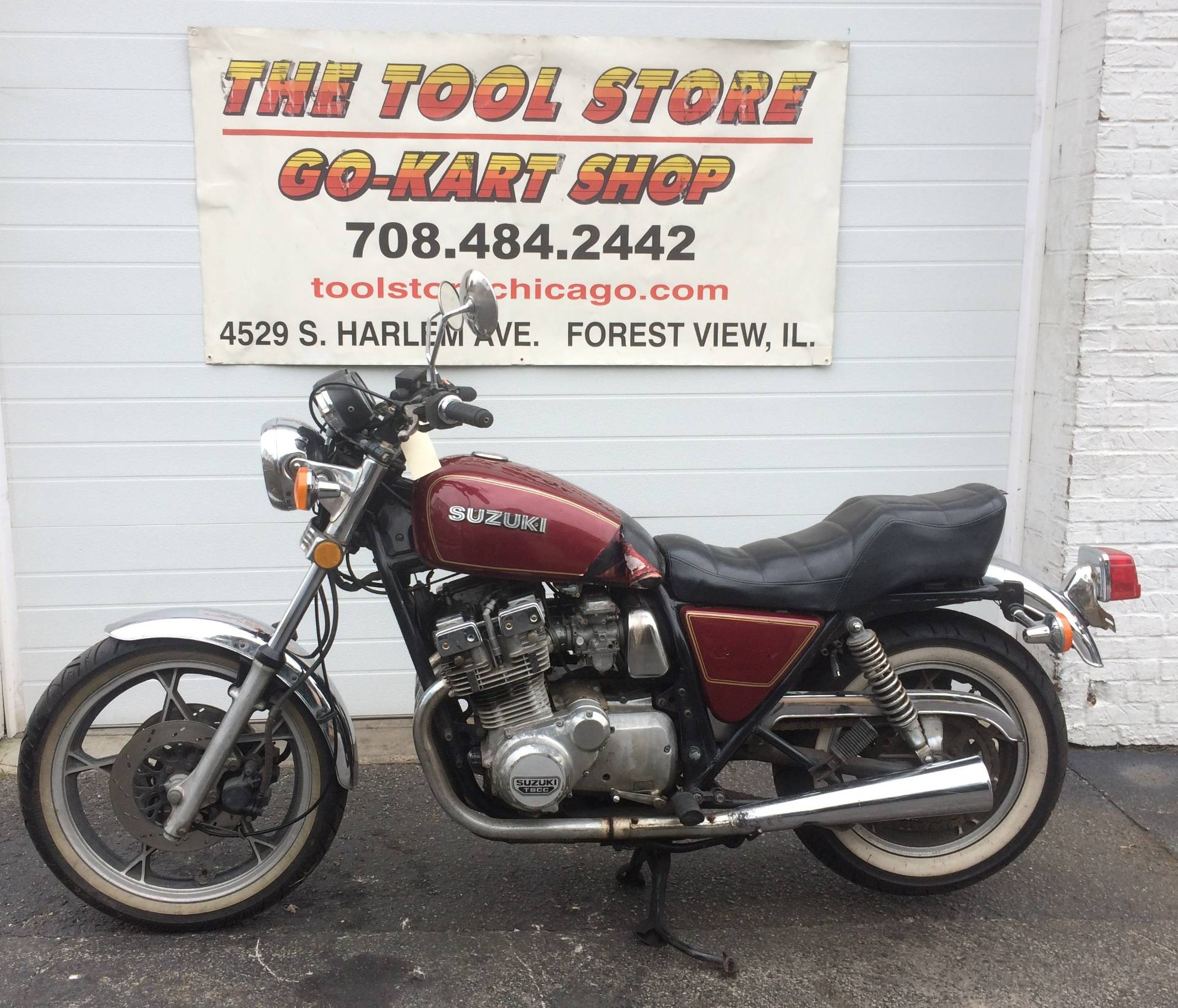 1981 Suzuki GS750L in Forest View, Illinois